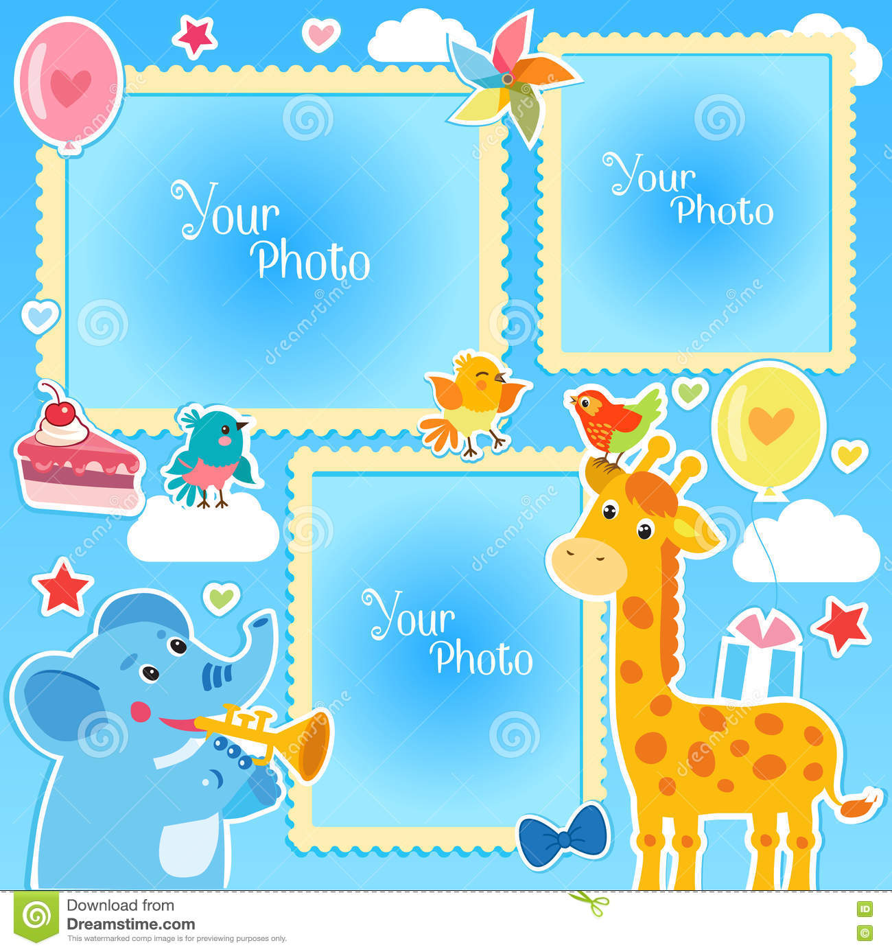 Photo frames collage photo frames making at home birthday photo photo frames collage photo frames making at home birthday photo frames with giraffe and elephant maxwellsz