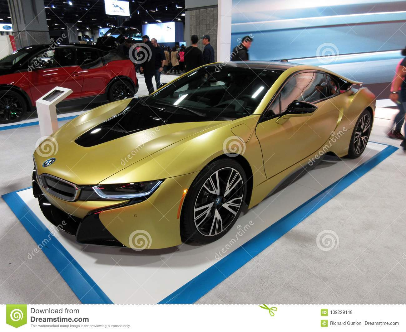 Gold Bmw Sports Car Editorial Stock Photo Image Of Sports 109229148