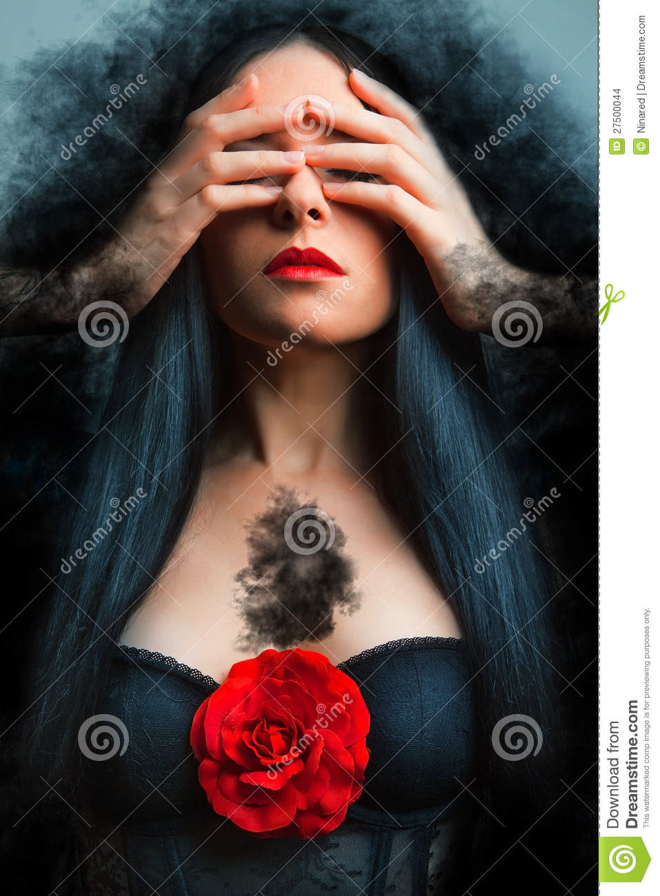 Photo of a gothic woman