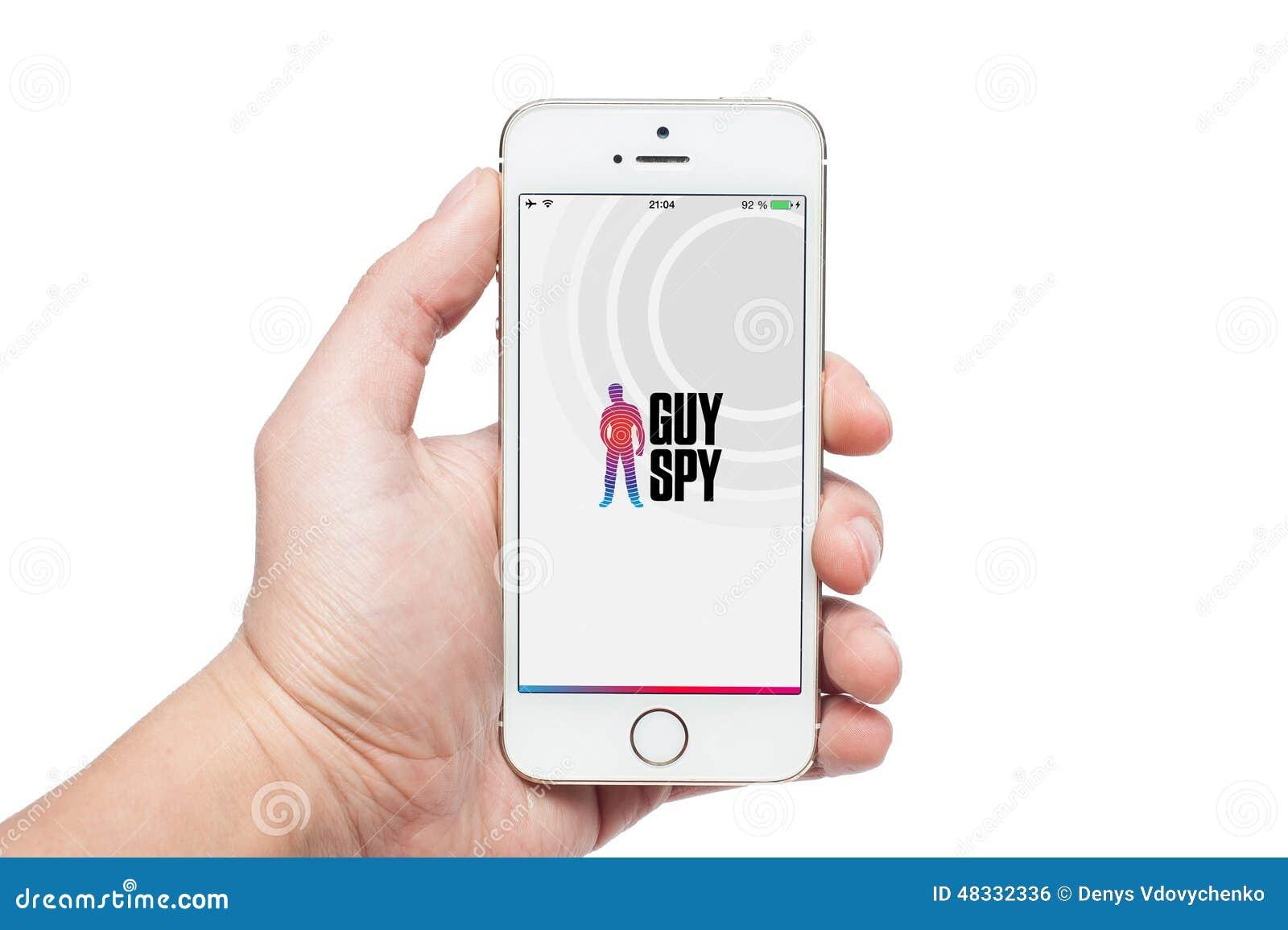 guy spy iphone app