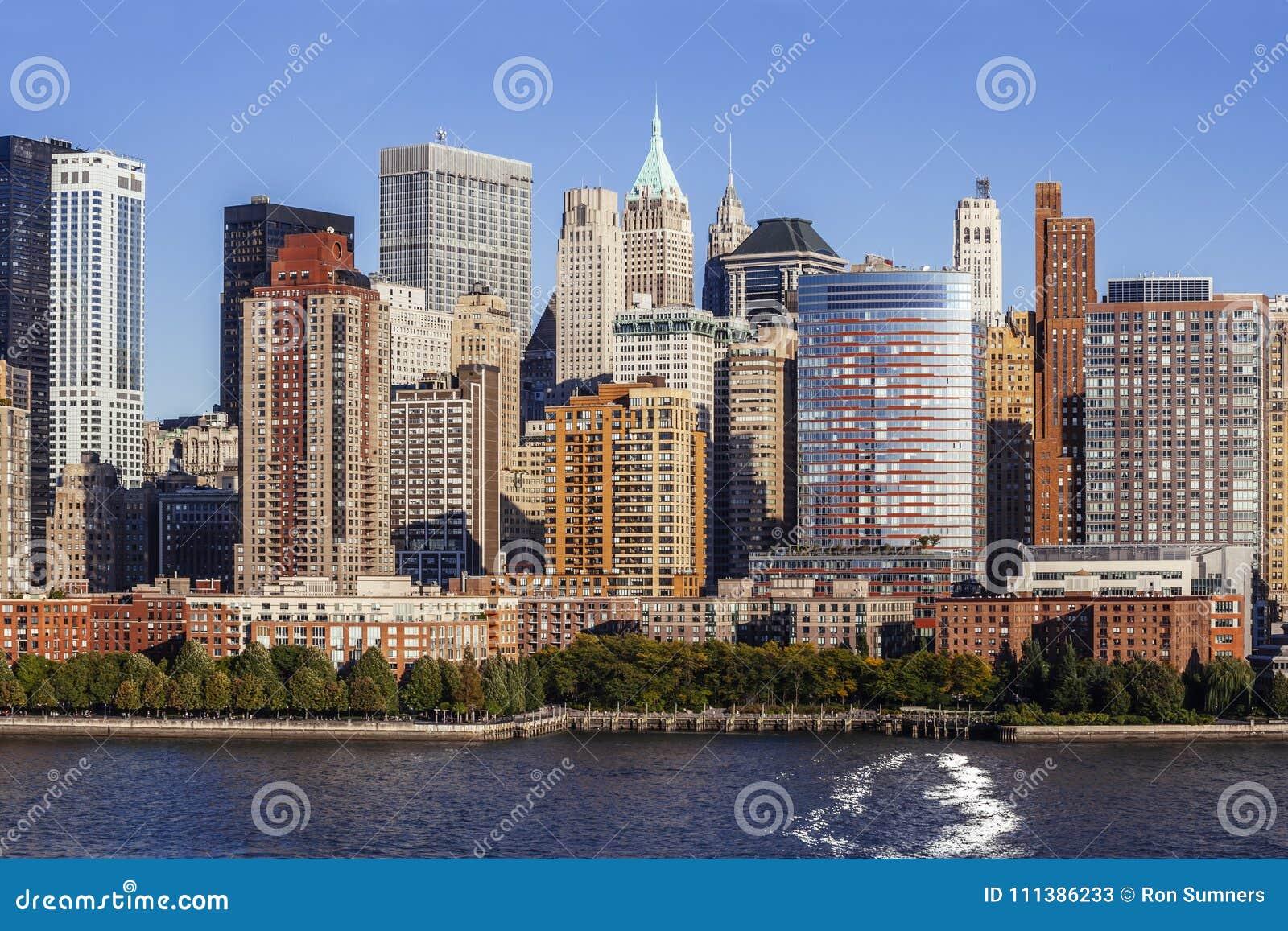 Midtown Manhattan from Hudson River