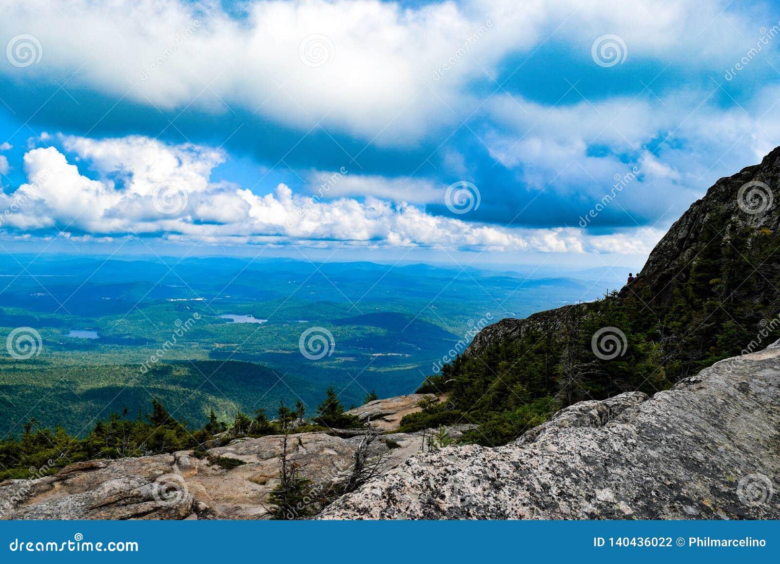 View from Mount Chocorua New Hampshire