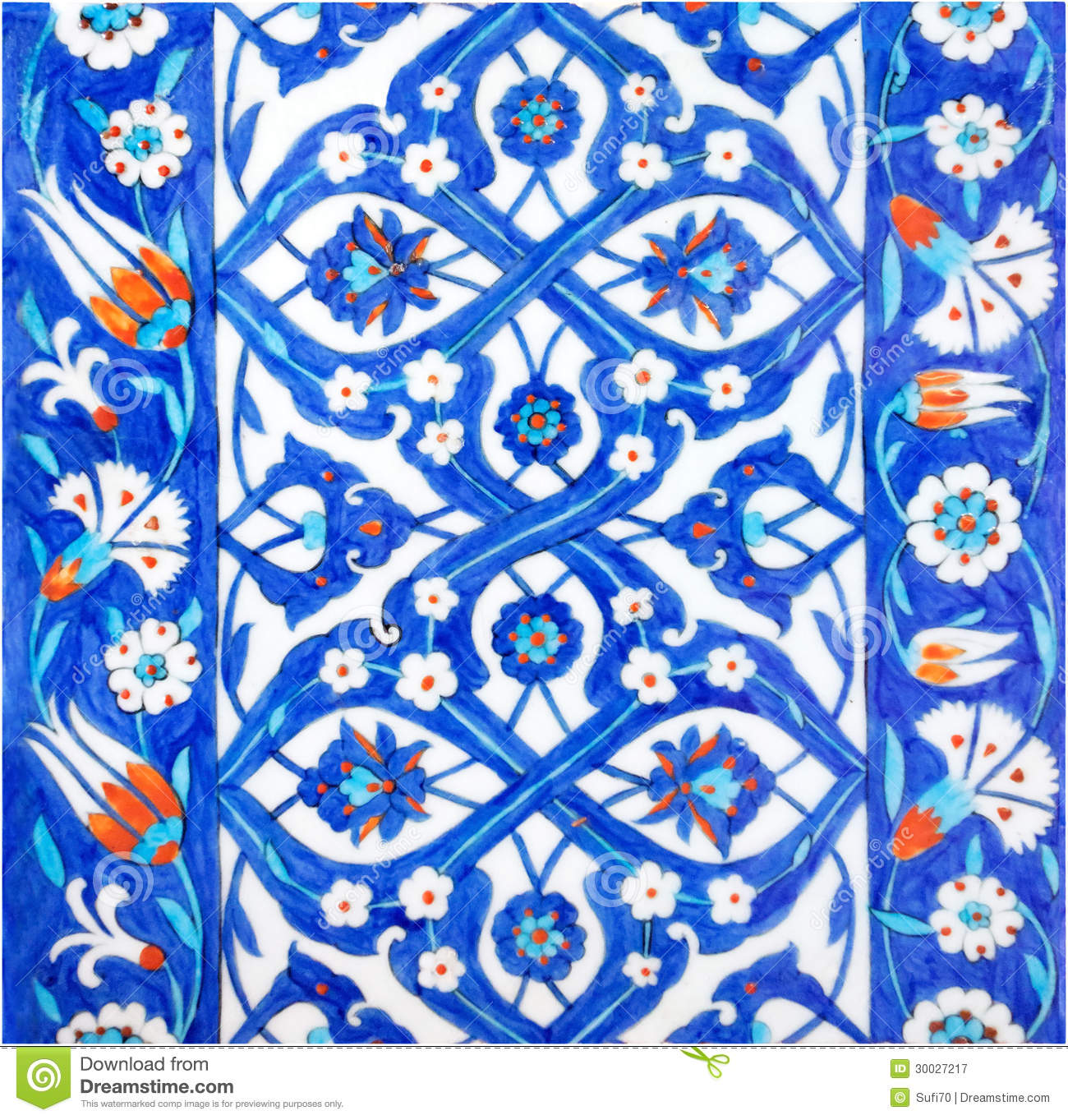 Turkish Tiles Royalty Free Stock Photography Image 30027217
