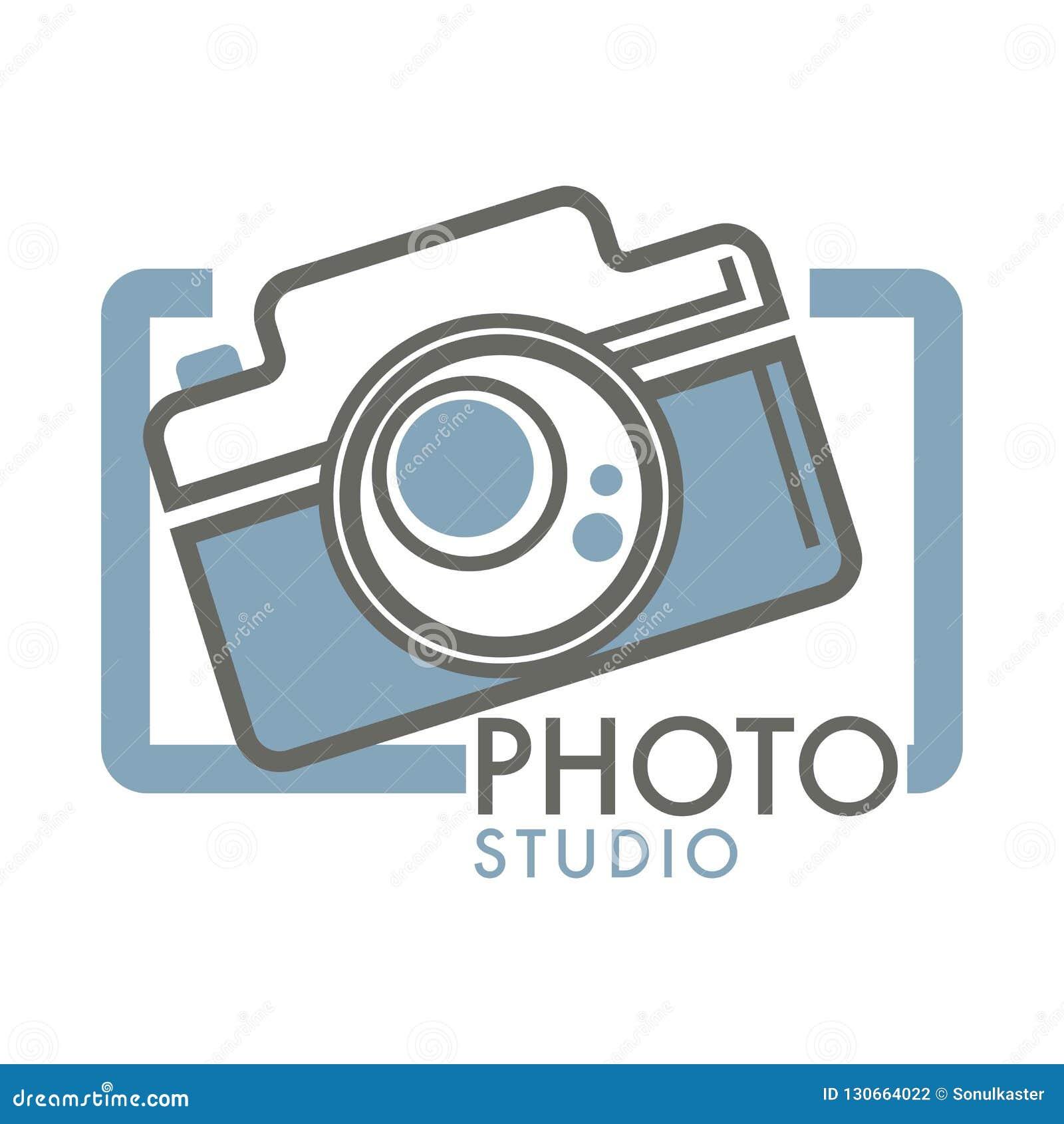 Logo Of Photo Studio, Camera Symbol, Shooting, Photoshoot