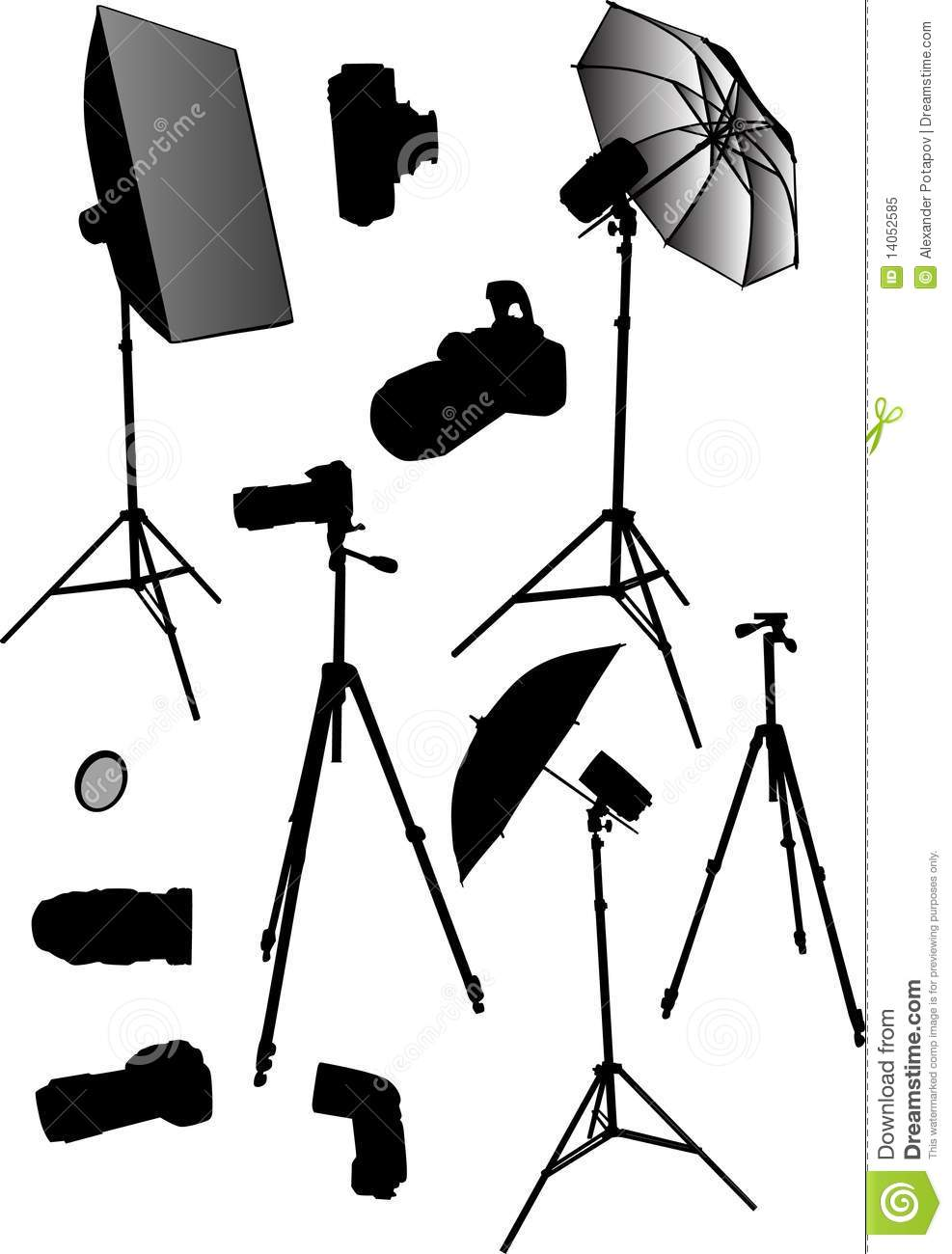 Photography Supplies Clip Art