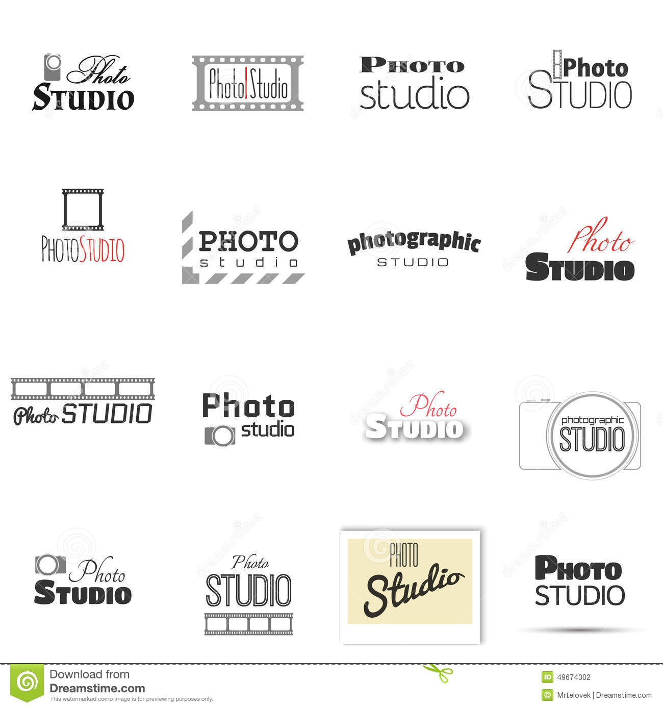Awesome Furniture Company Names Photo Studio For Label Name Stock Vector Image  49674302