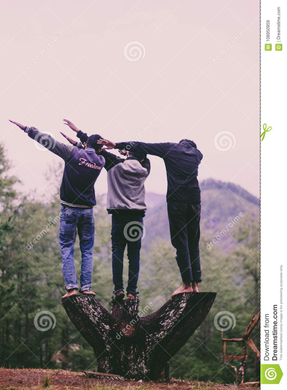 Boys Doing dab editorial stock image  Image of coloured