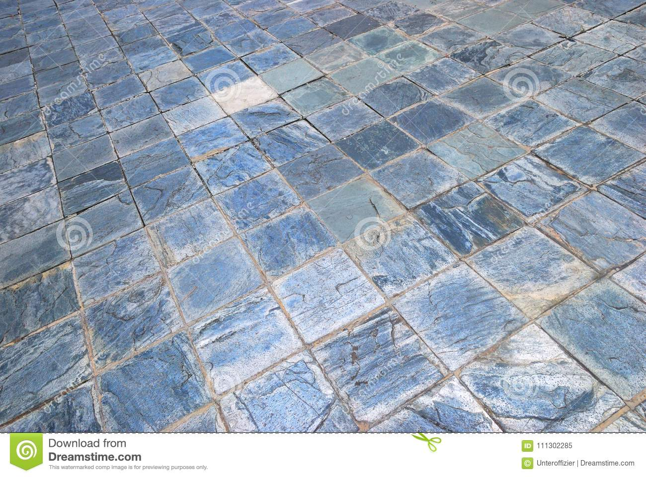 Blue Rough Surface Textured Square Tiles Stock Image Image Of