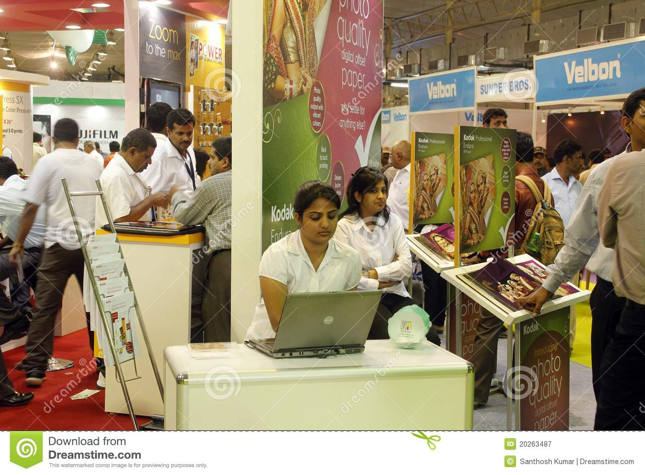 Exhibition Stall Vector Free Download : Photo today exhibition bangalore editorial