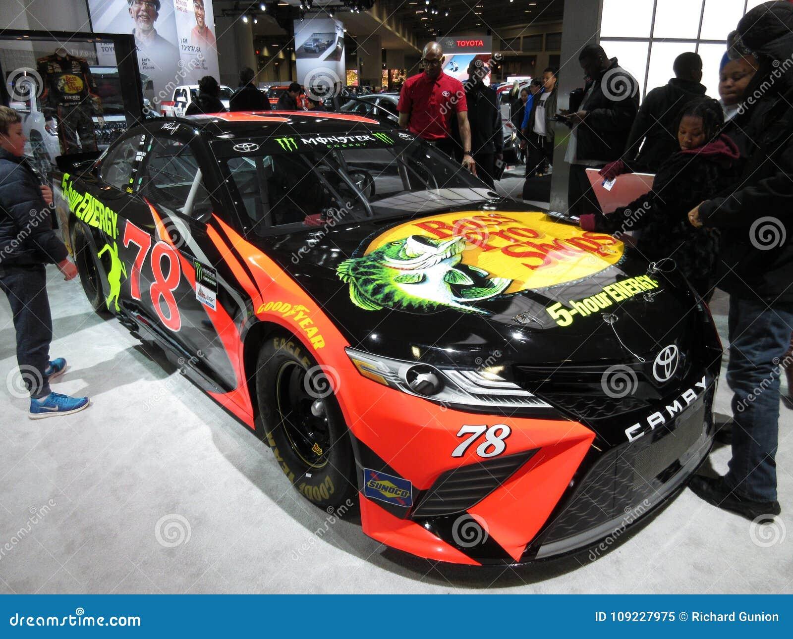 Bass Pro Shops Racing Camry Editorial Image Image Of Show Stock - Bass pro car show