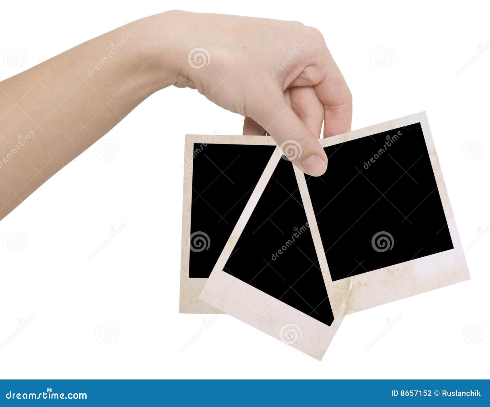 Photo trois de main de trames
