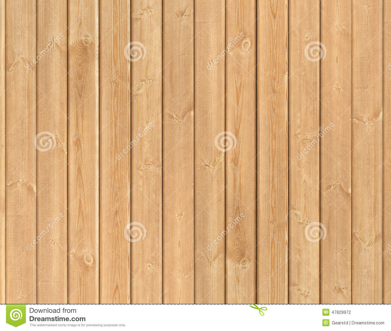 Photo Of Vertical Clean Wood Panels Stock Photo