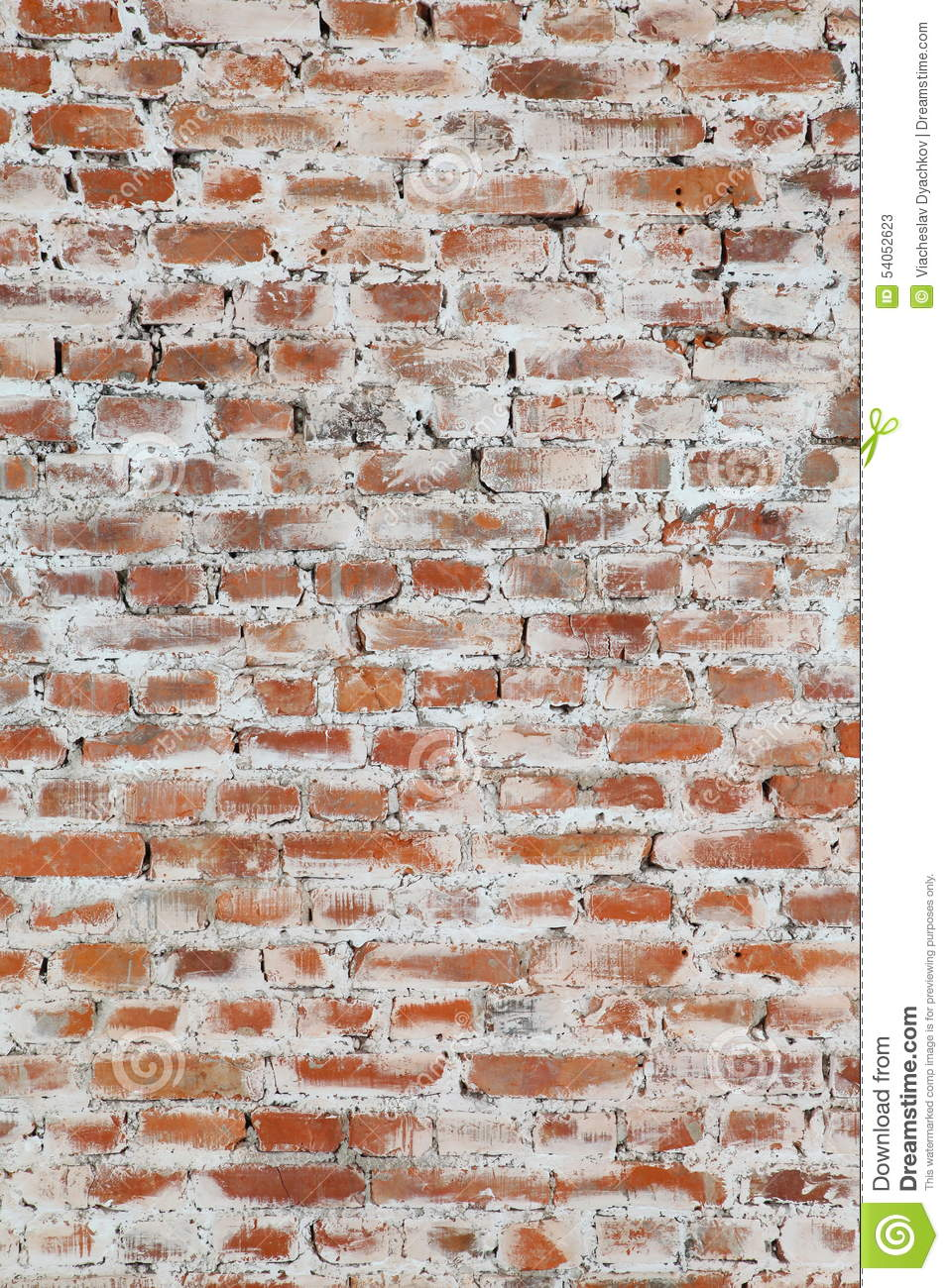Photo Wall With The Old Brickwork Stock Image Image