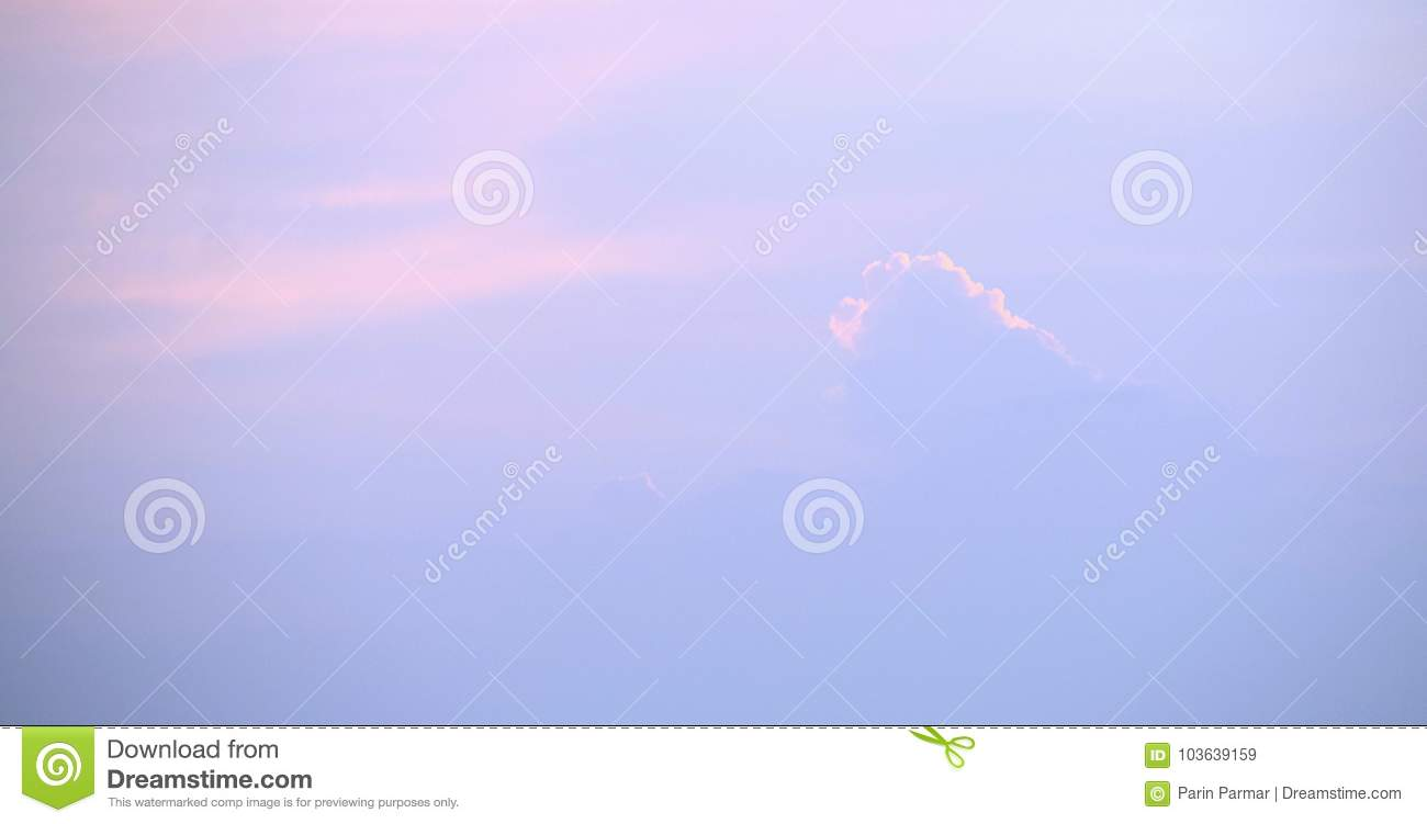 This Is A Photograph Of Clouds With Orange Outline Along Shades And Blue In Sky At Time Sunset Which Can Also Be Used As Natural