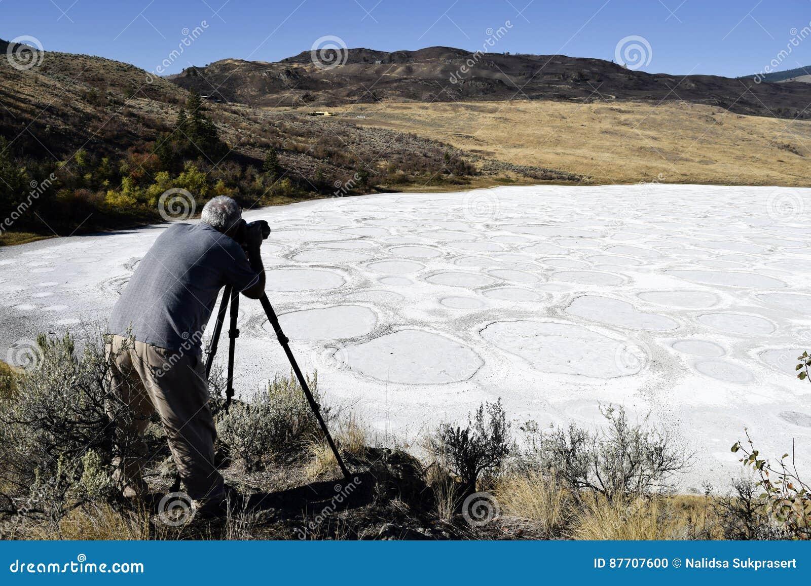 Photographe adulte de passe-temps d homme