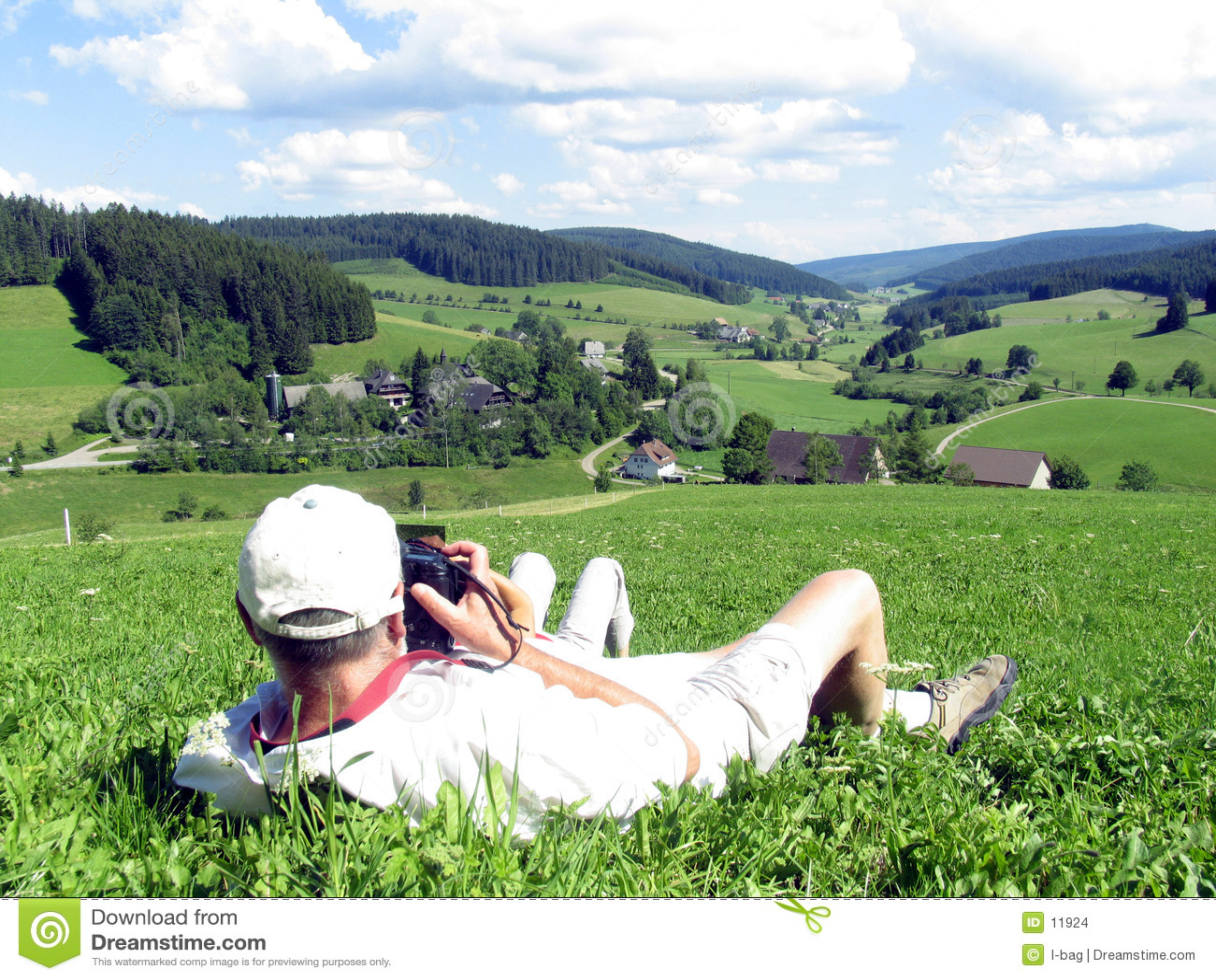 Photographe dans l action