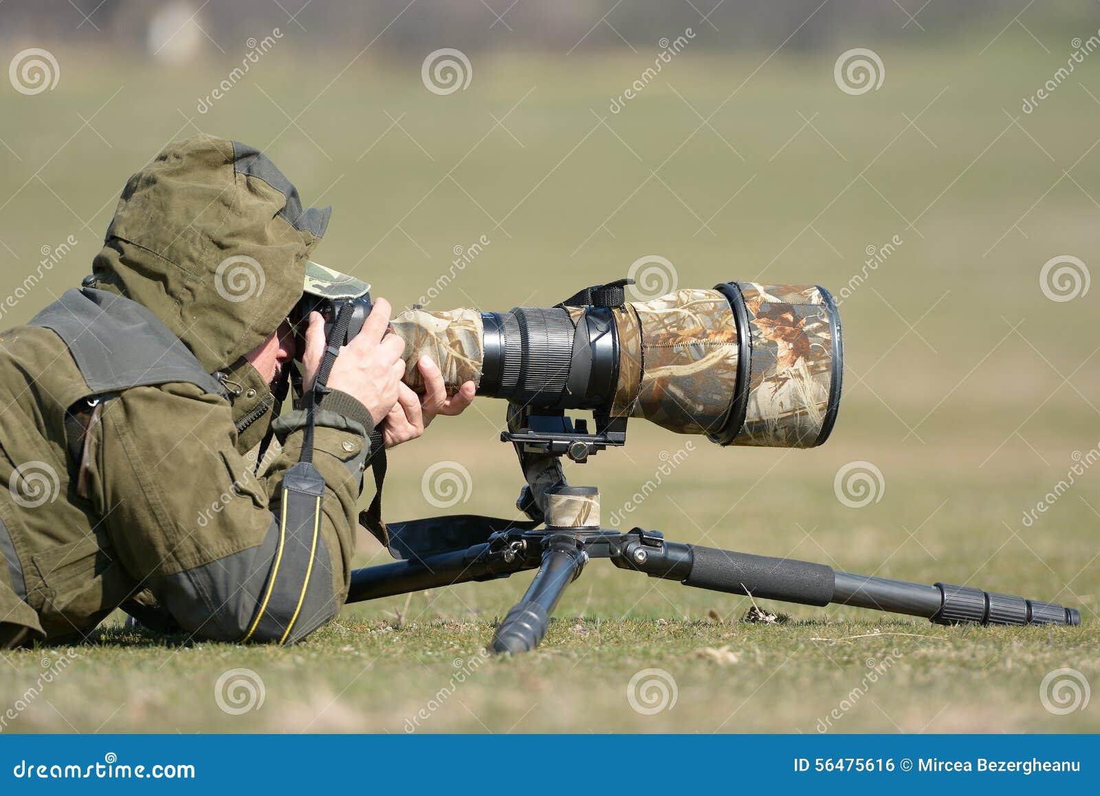 Photographe de faune extérieur