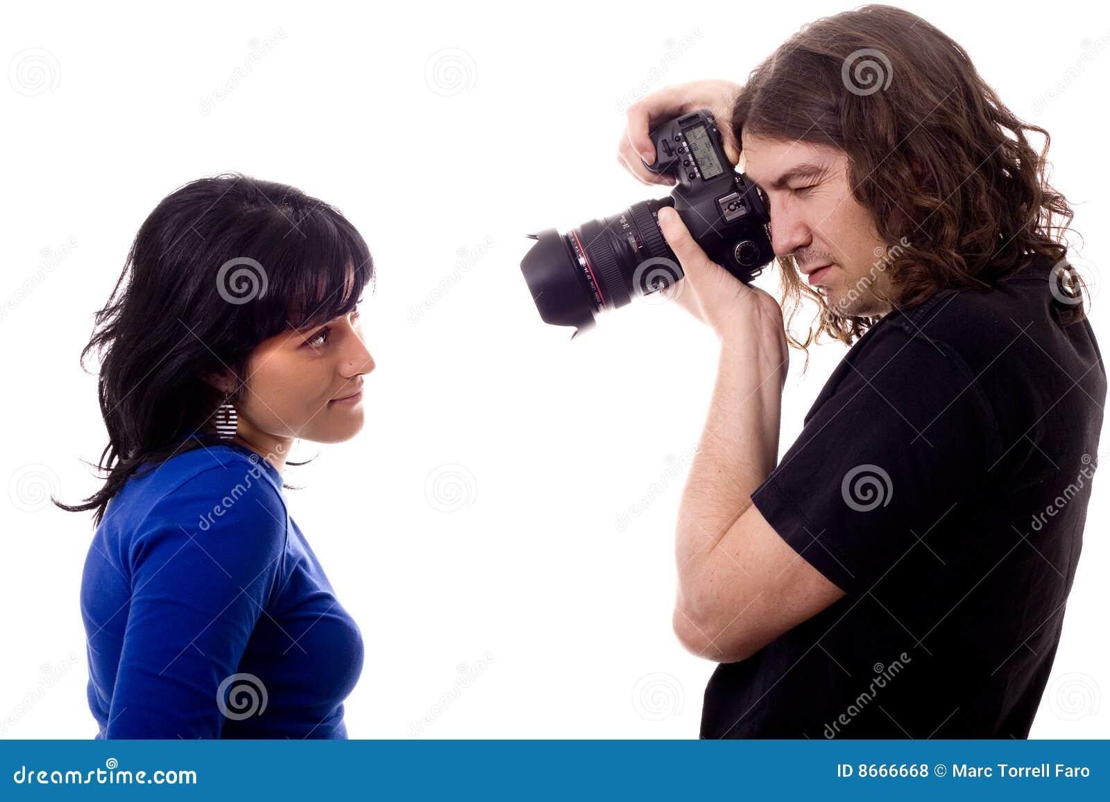 Photographe modèle