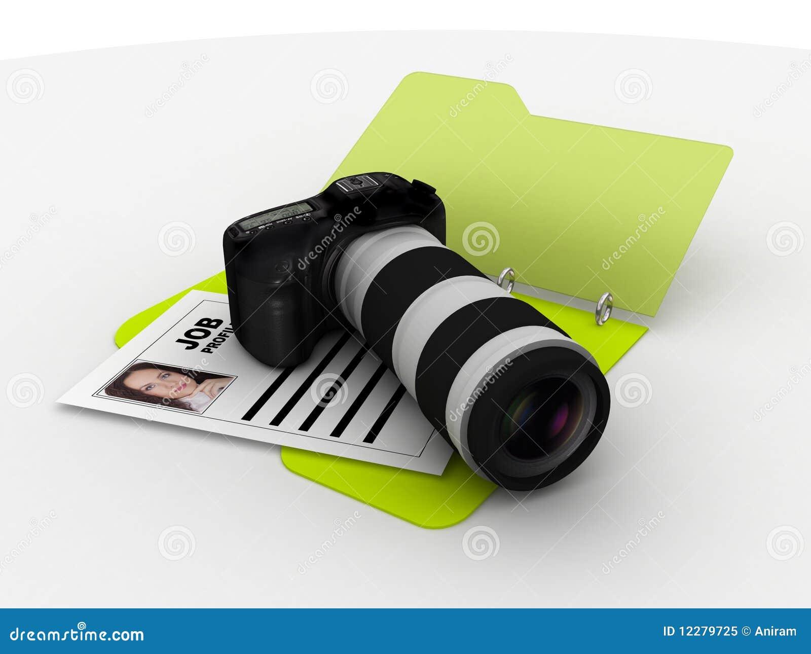 photographer resume folder royalty stock photo image 12279725 photographer resume folder