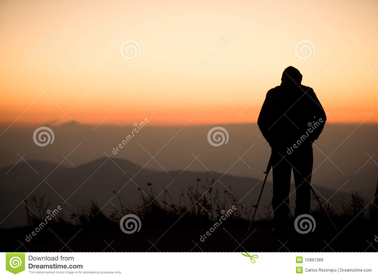 Photographer Silhouette Royalty Free Stock Images - Image ...