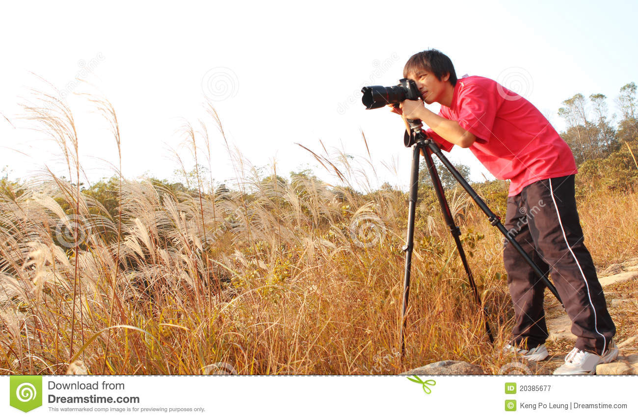 grapher Taking Royalty Free Stock graphy Image