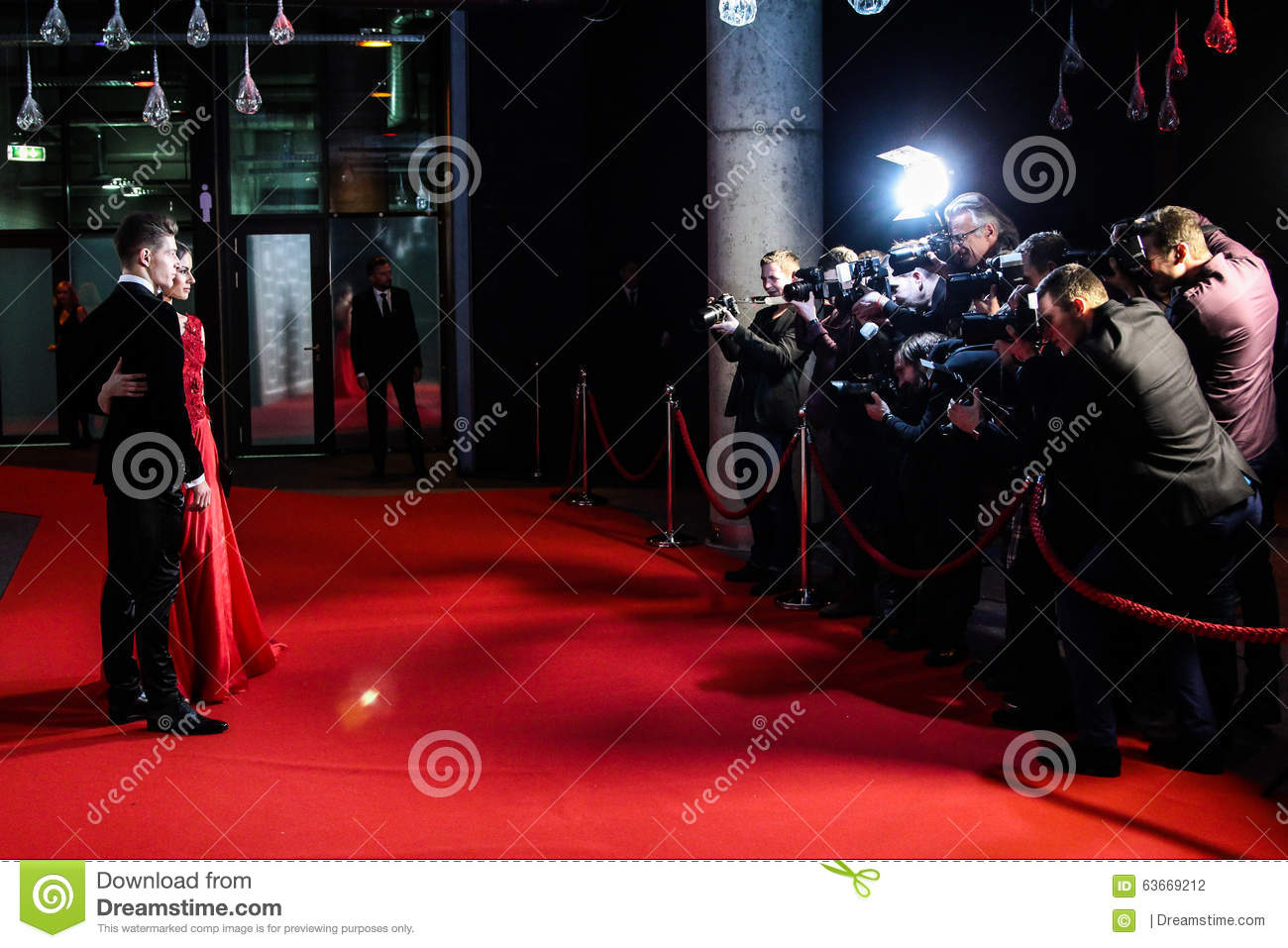 Red carpet and flash royalty free stock image 11456800 - Red carpet photographers ...