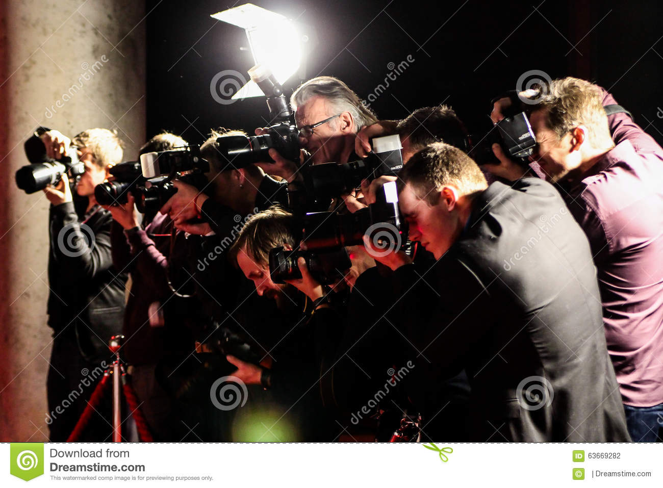 Photographers taking pictures on red carpet editorial photography image 63669282 - Red carpet photographers ...