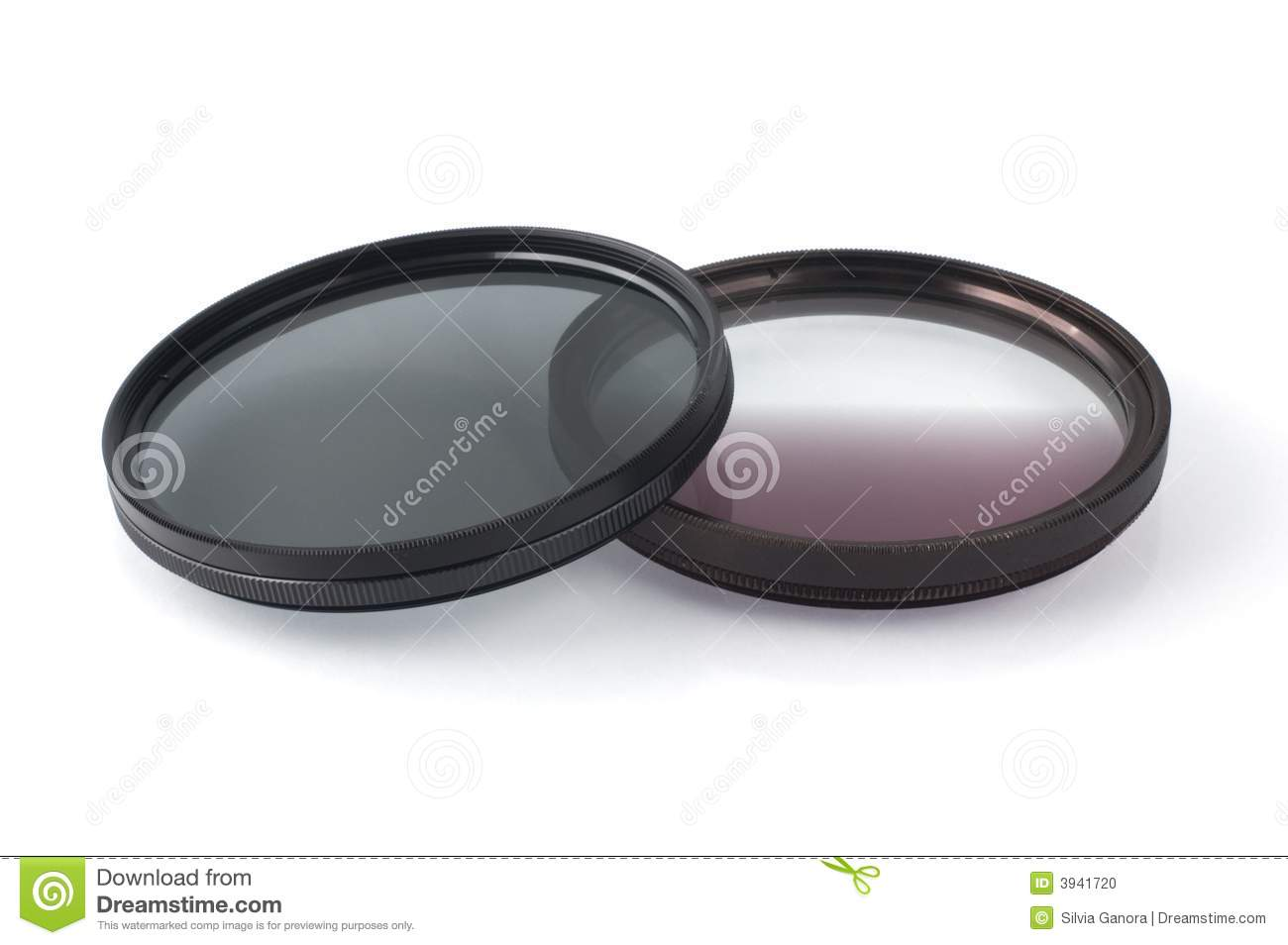 Photographic Filters Stock Photo