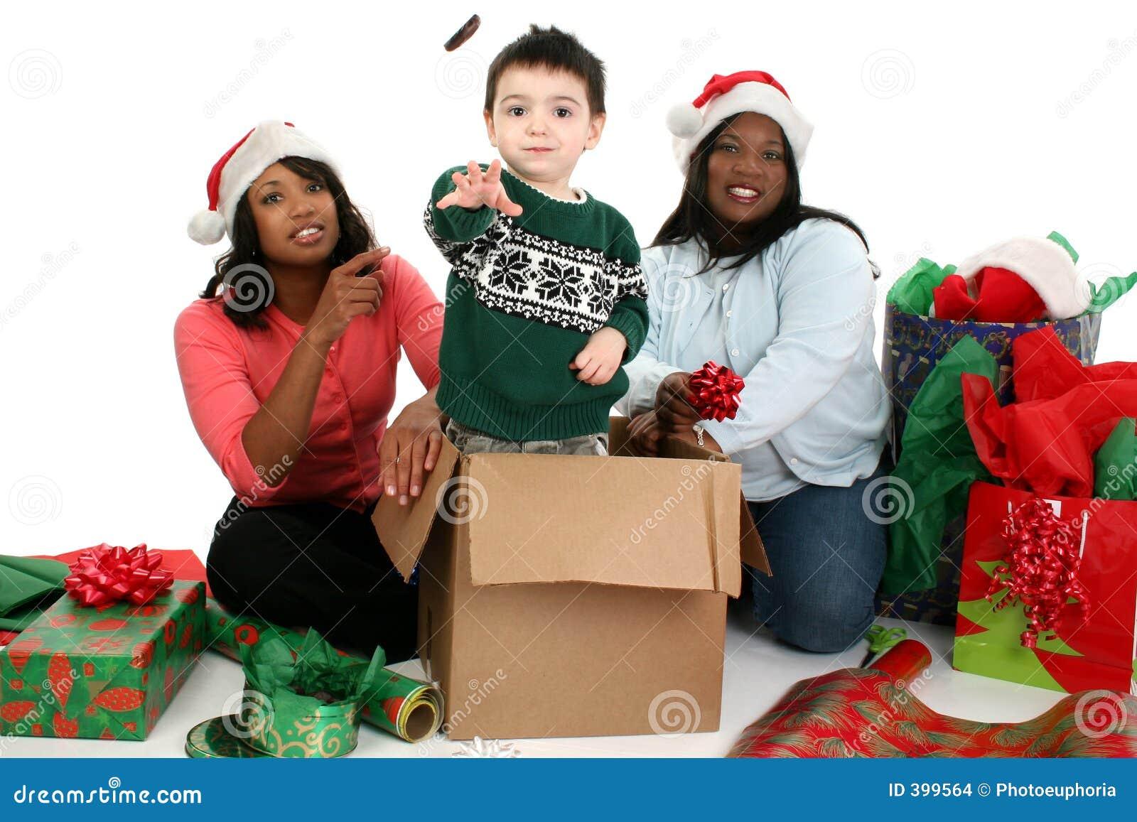 Photographie courante : Scène de Noël
