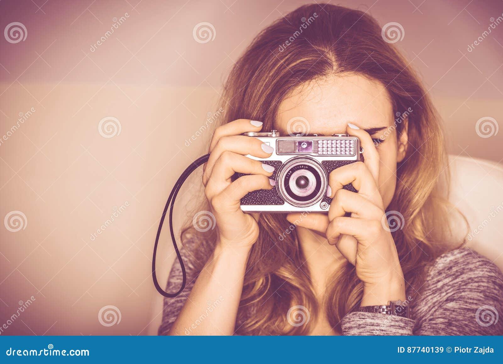 Photographie d appareil-photo de vintage