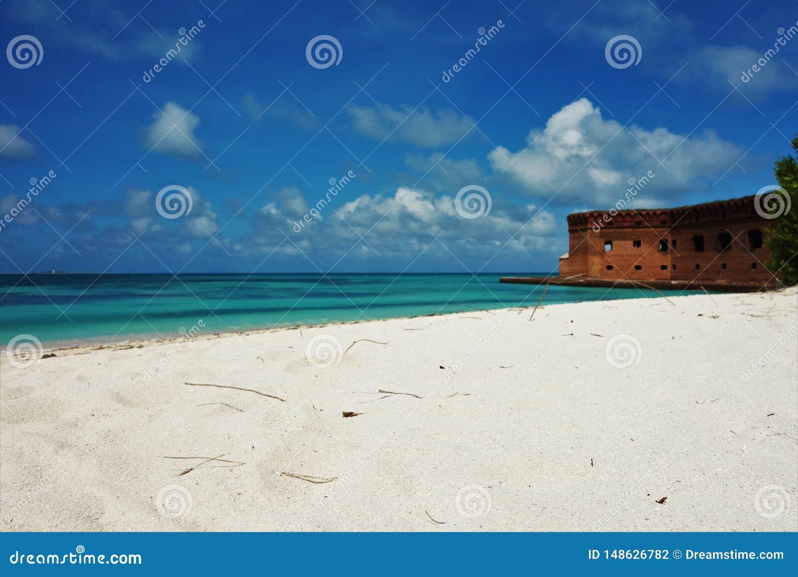 Photographie sèche de Key West la Floride de parc national de Tortugas
