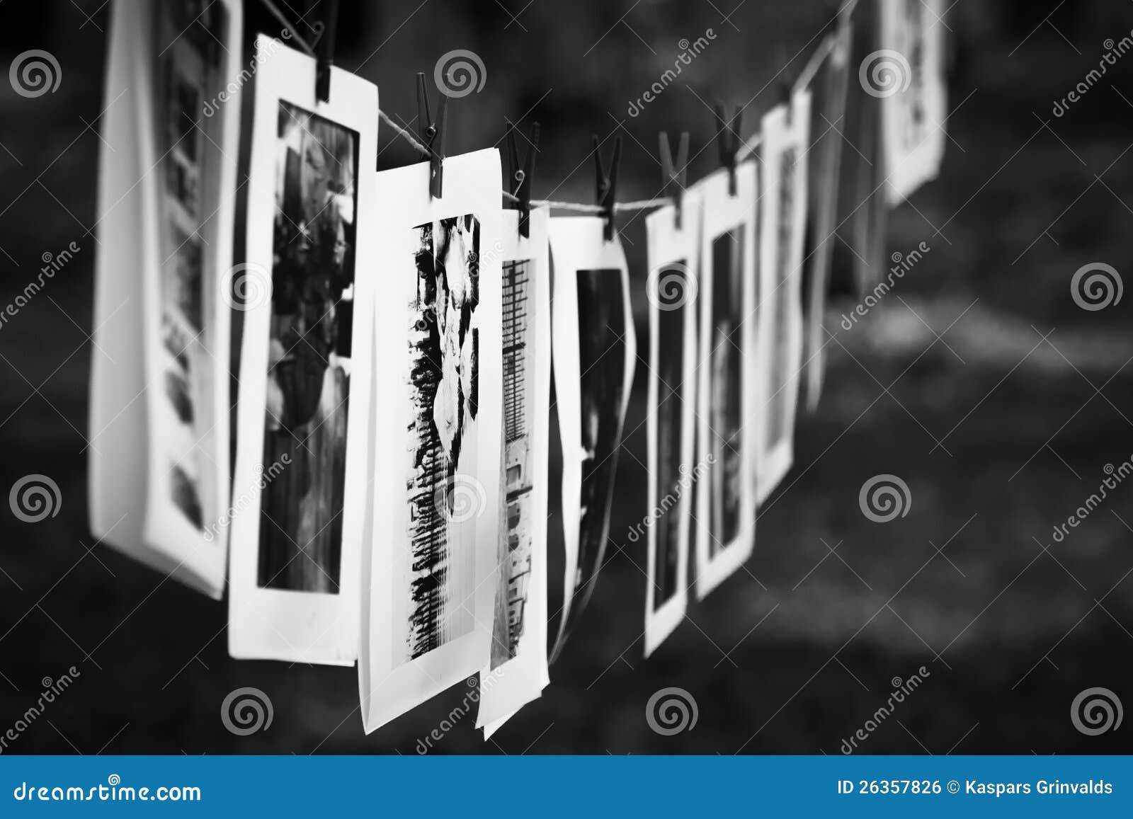 Photographies noires et blanches