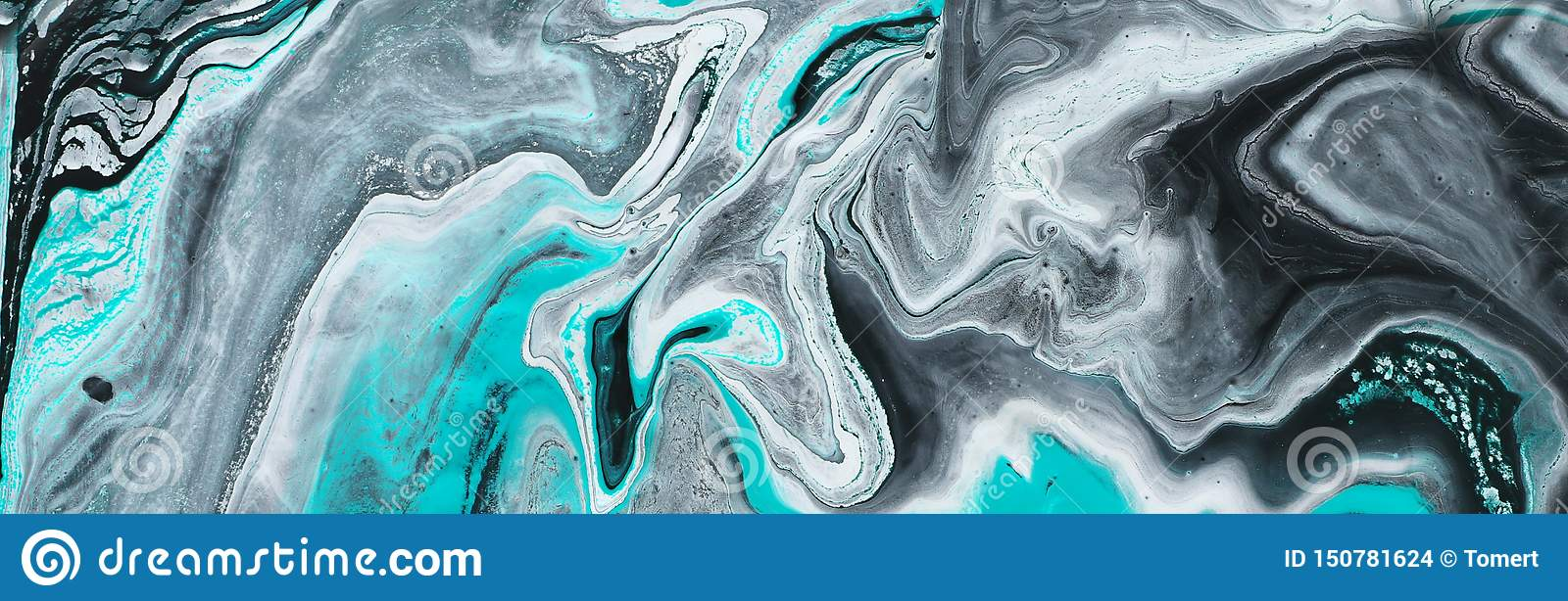 Photography Of Abstract Marbleized Effect Background Black