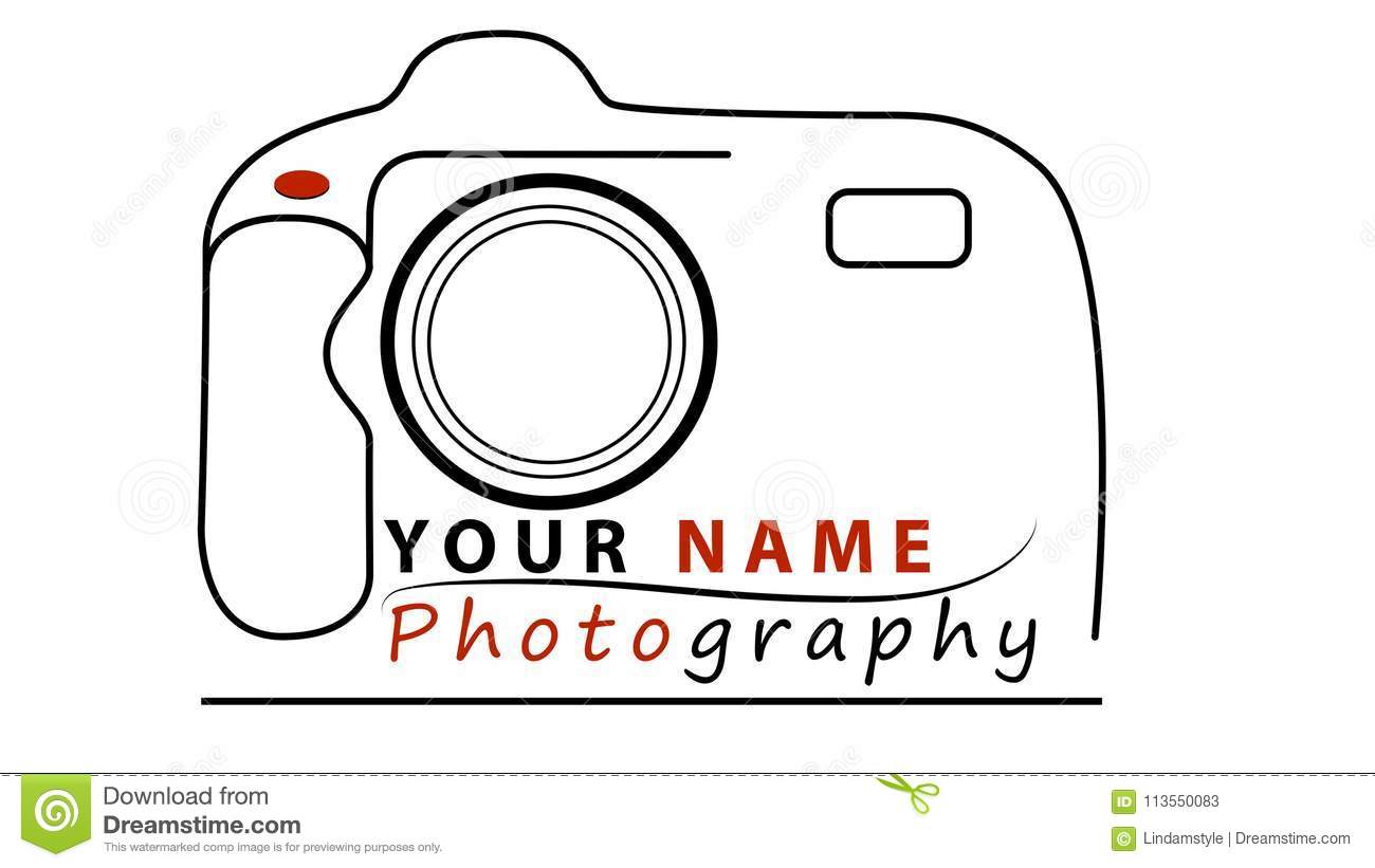 Photography Business Logo Design Stock Vector Illustration Of Camera Business 113550083