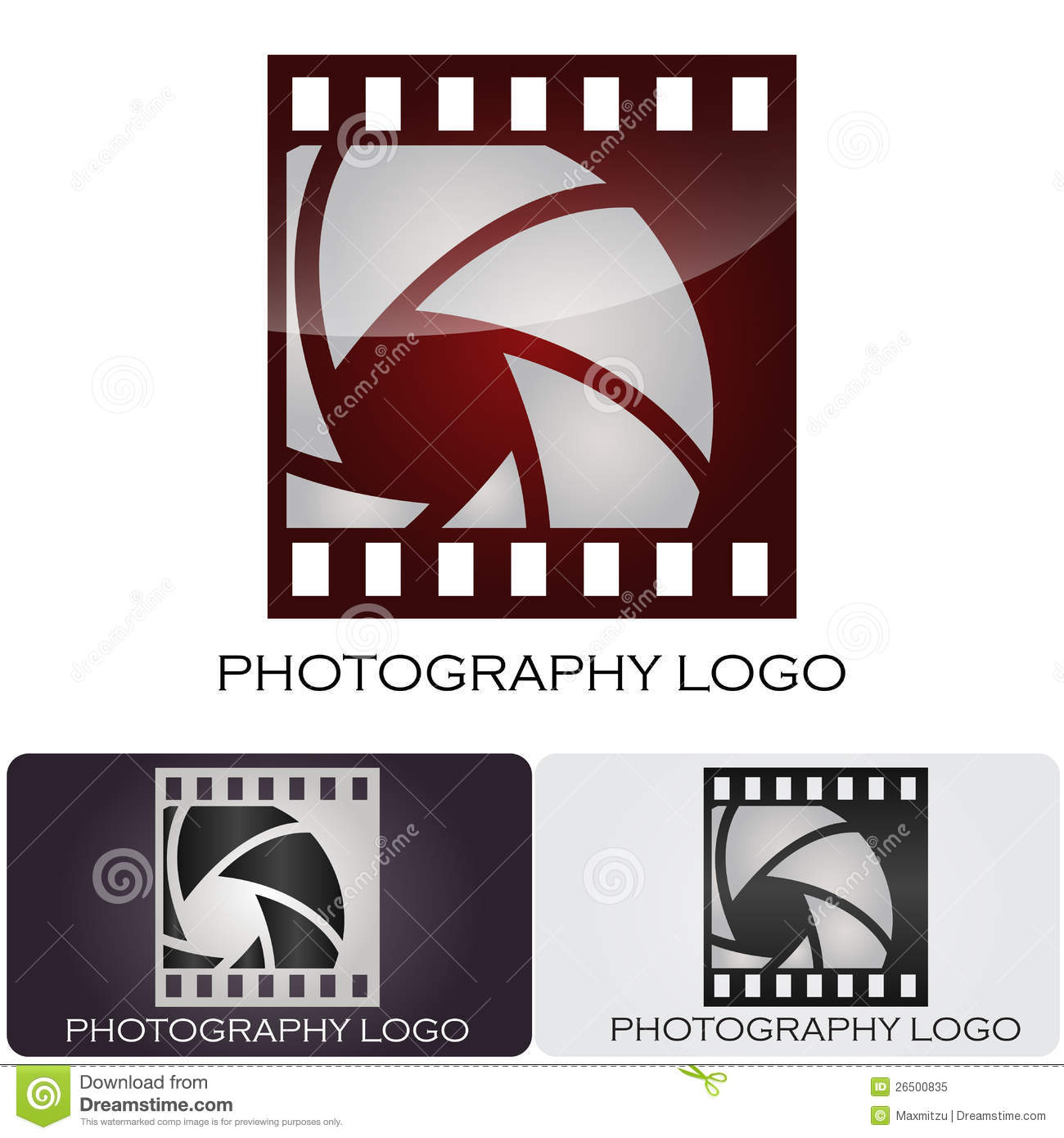 Camera Company Logo Photography company logo