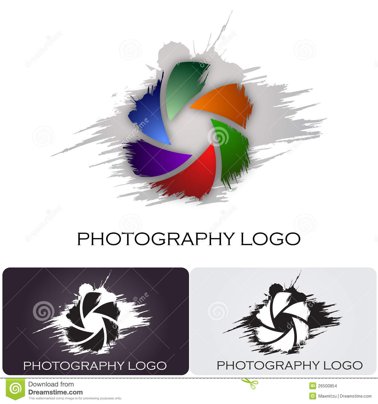 Camera Company Logo Photography company logo brush