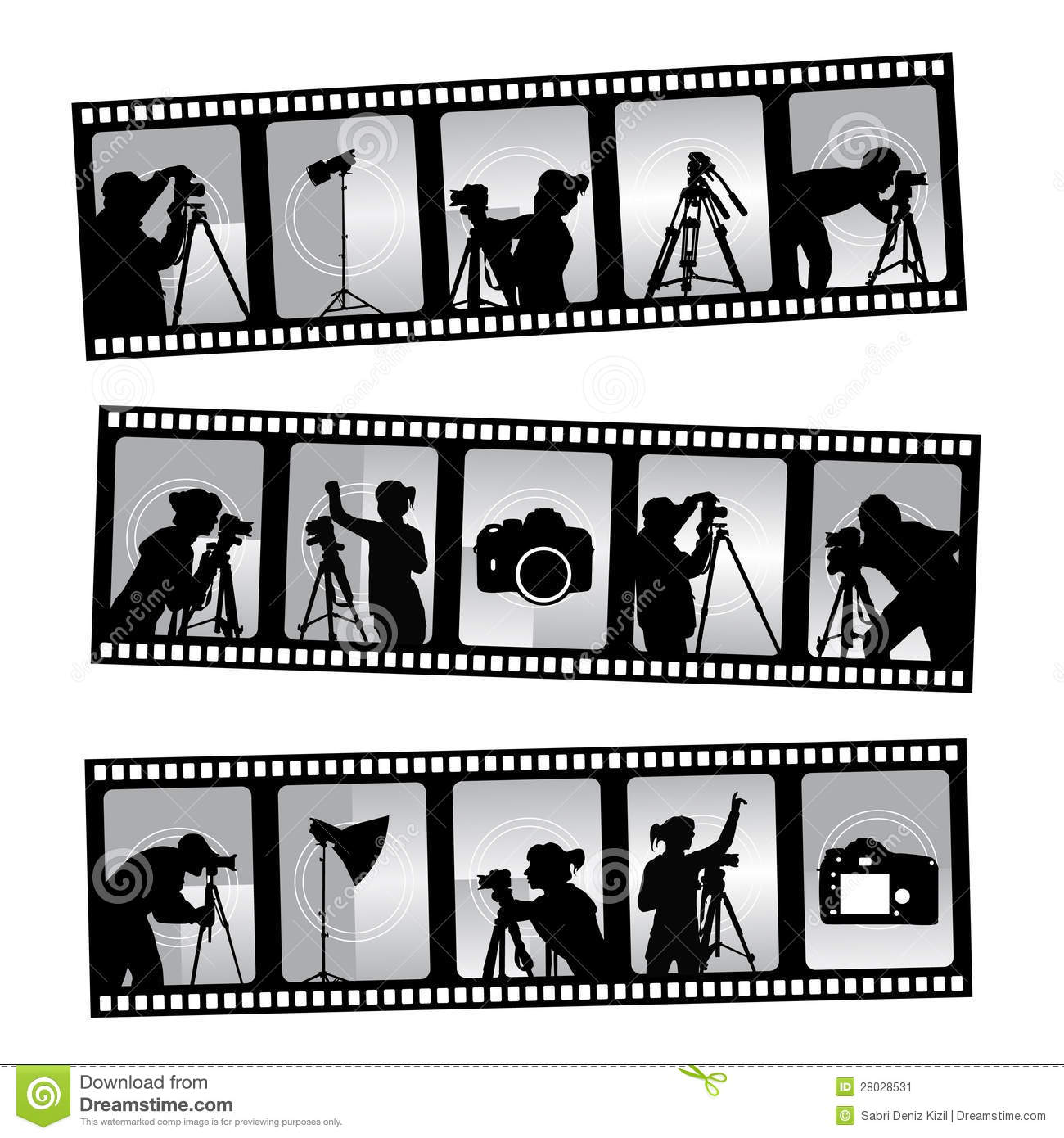 Photography Filmstrip Stock Image - Image: 28028531
