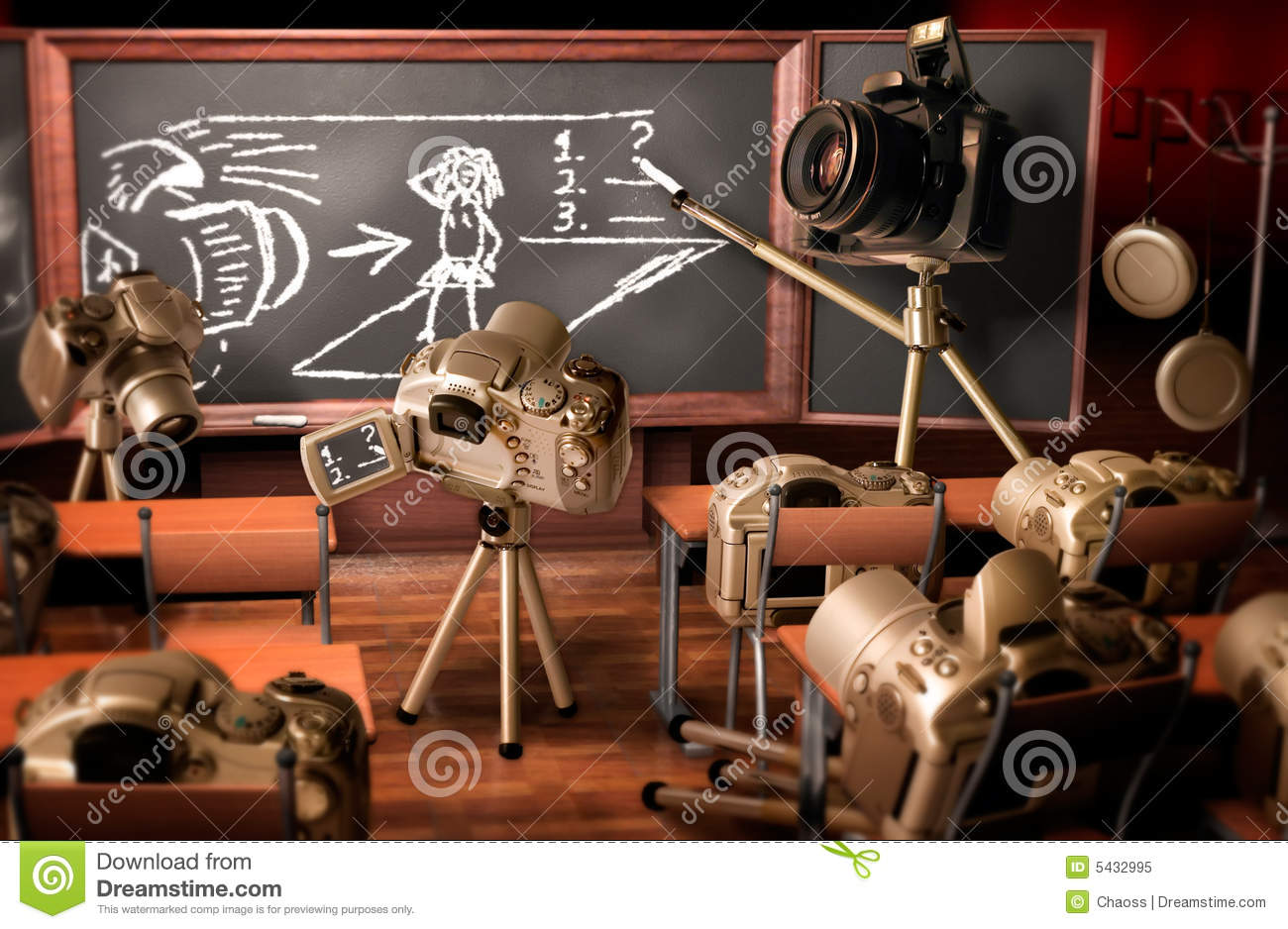 Photography Lesson Royalty Free Stock Photo - Image: 5432995