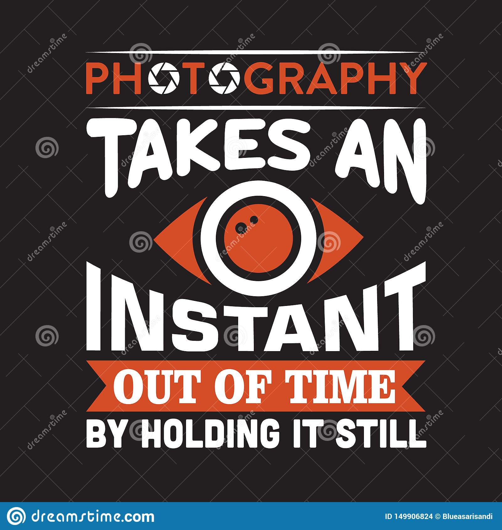 Advert for photography