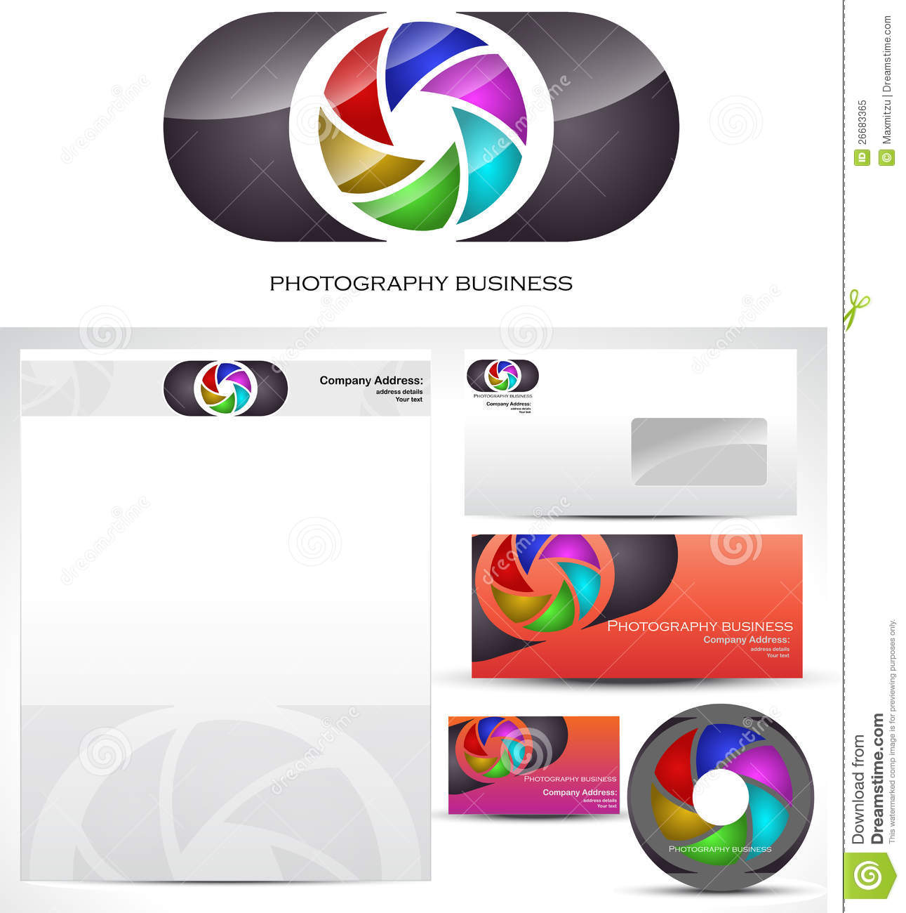 Photography Template Logo Design Stock Vector Illustration Of - Logo layout templates