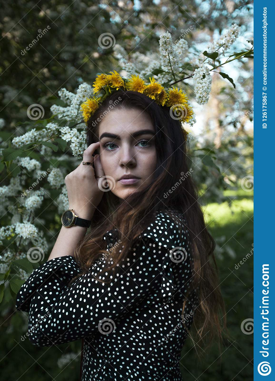 Free Public Domain Cc0 Image Photography Of Wearing Flower Crown