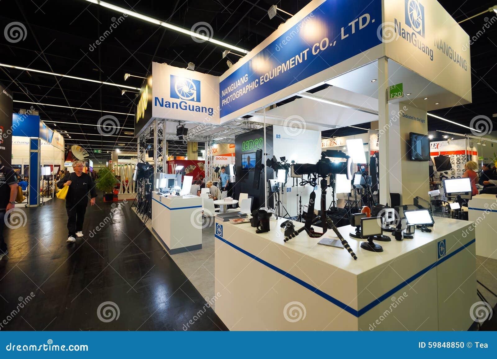 Photokina exhibition interior editorial image for Interior fair