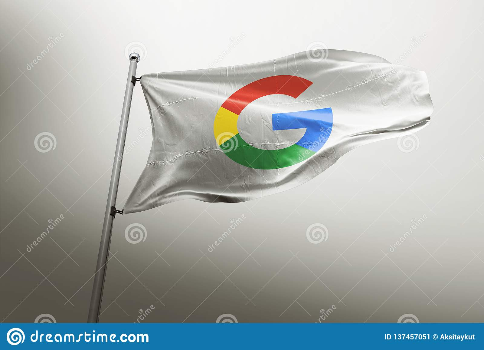 Photorealistic Flaggenleitartikel Googles