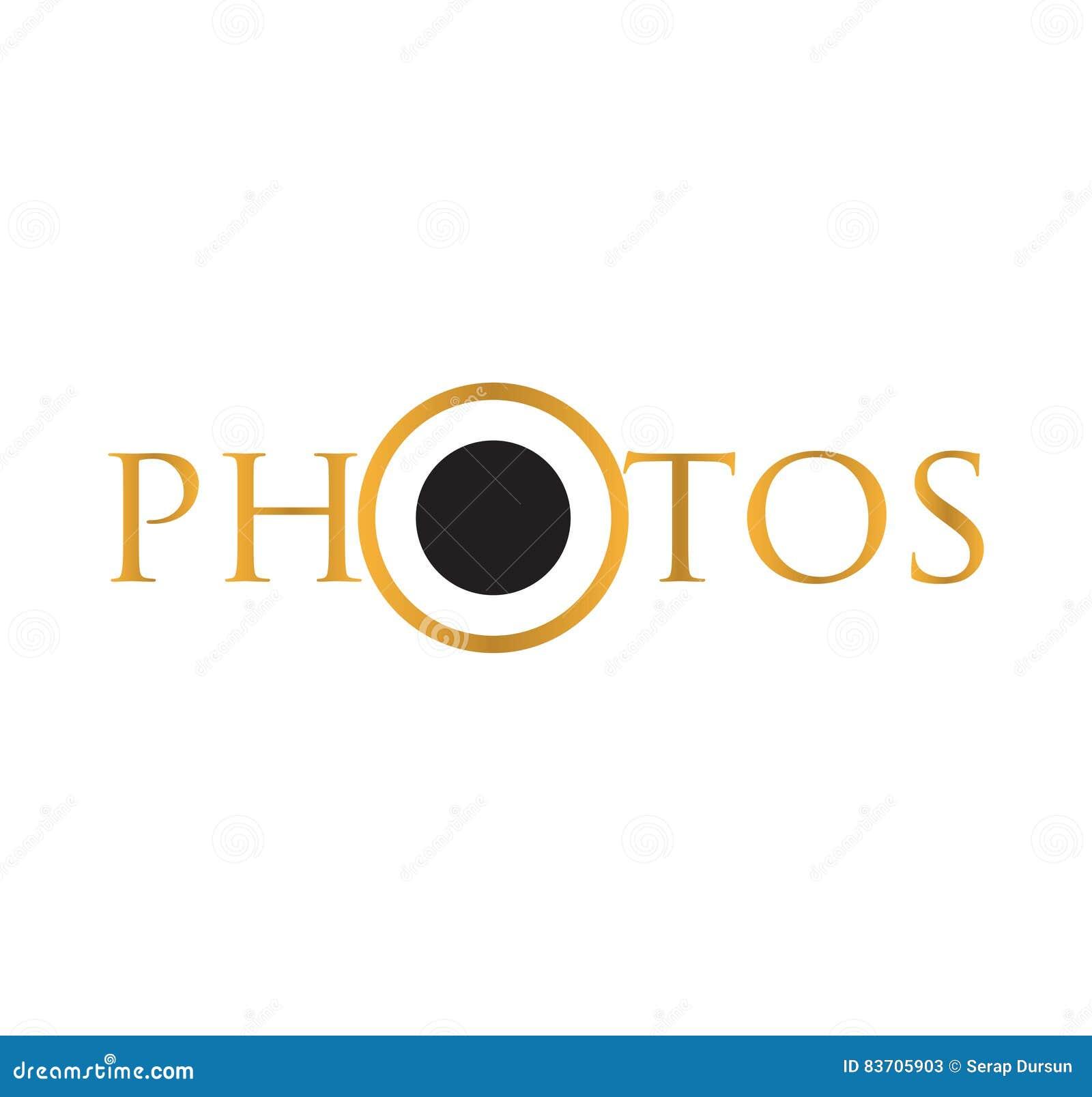 Photos Logo Icon Stock Vector