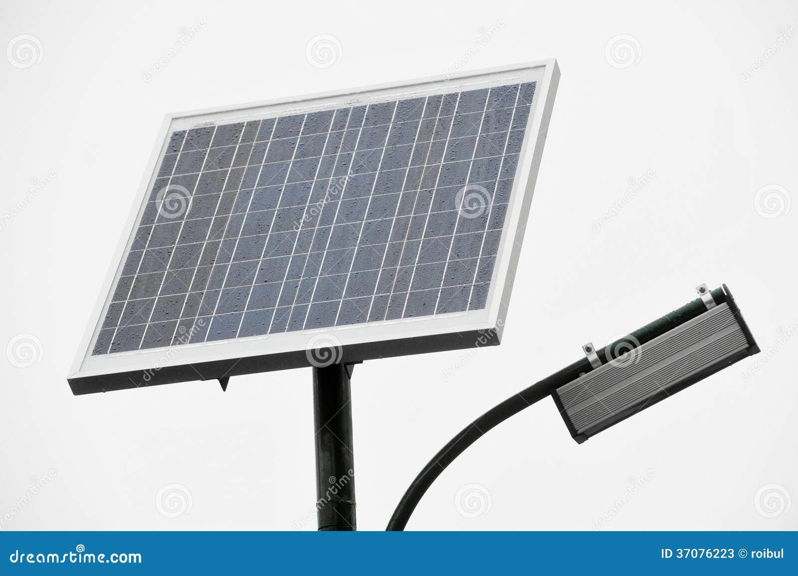 Download Photovoltaic Jawny Oświetlenie Obraz Stock - Obraz złożonej z elektryczny, gospodarka: 37076223
