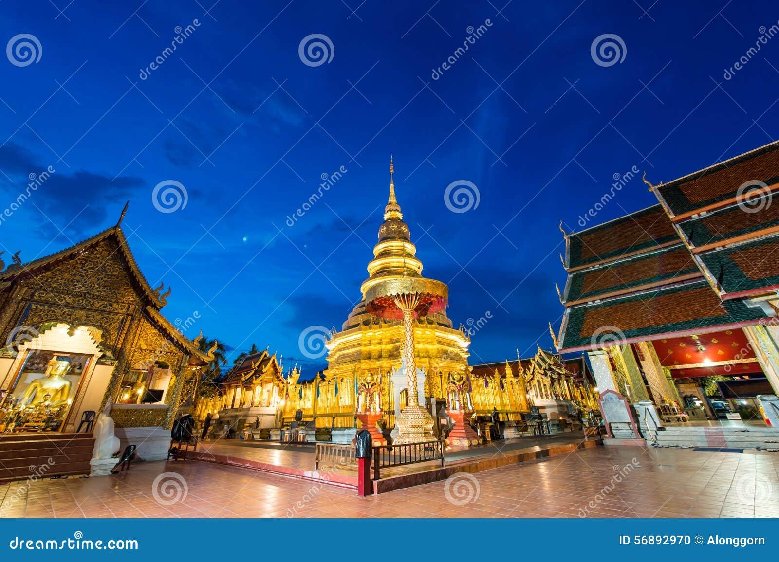 Phra di Wat che hariphunchai