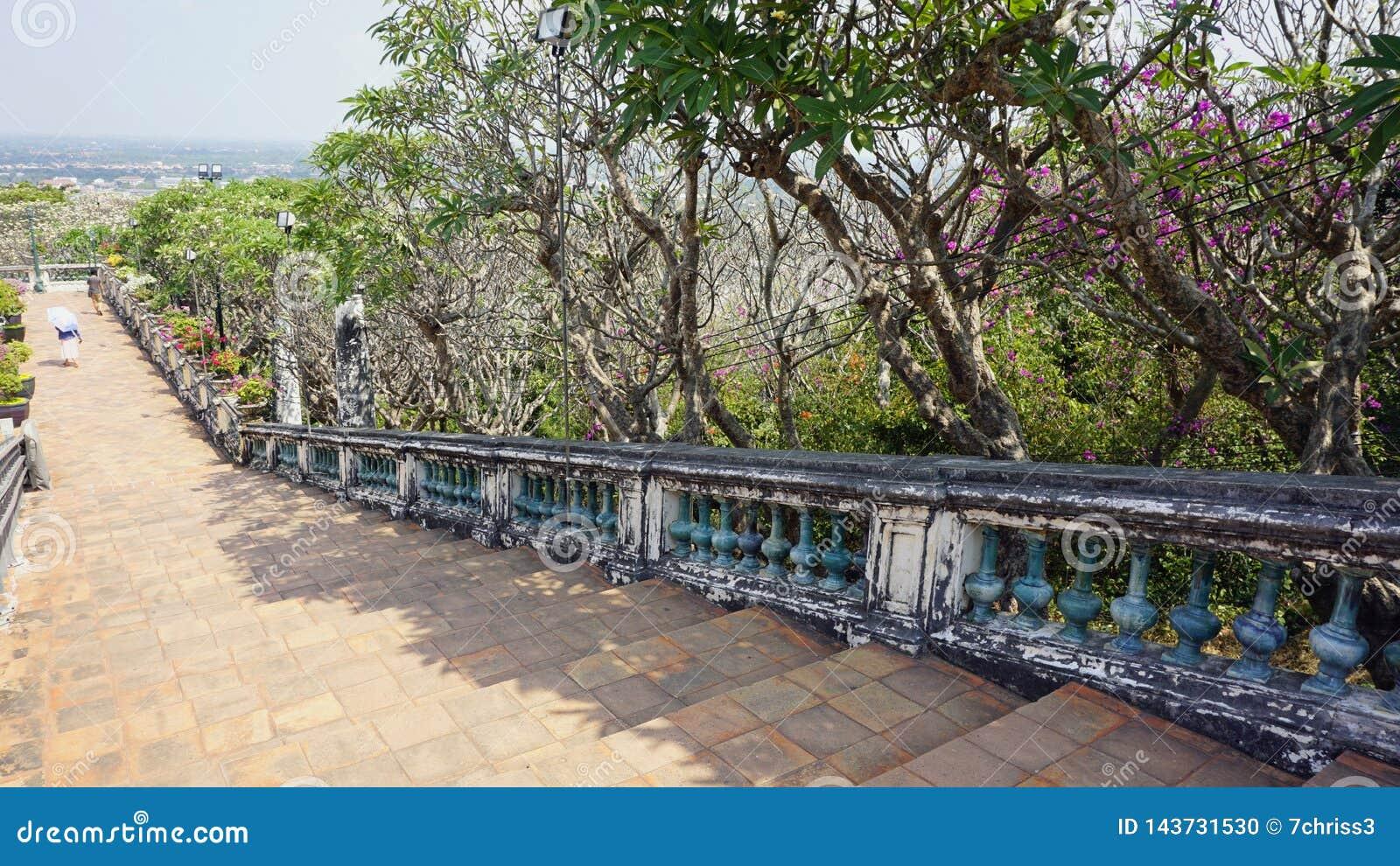 Phra Nakon Kiri Temple Complex en Tailandia