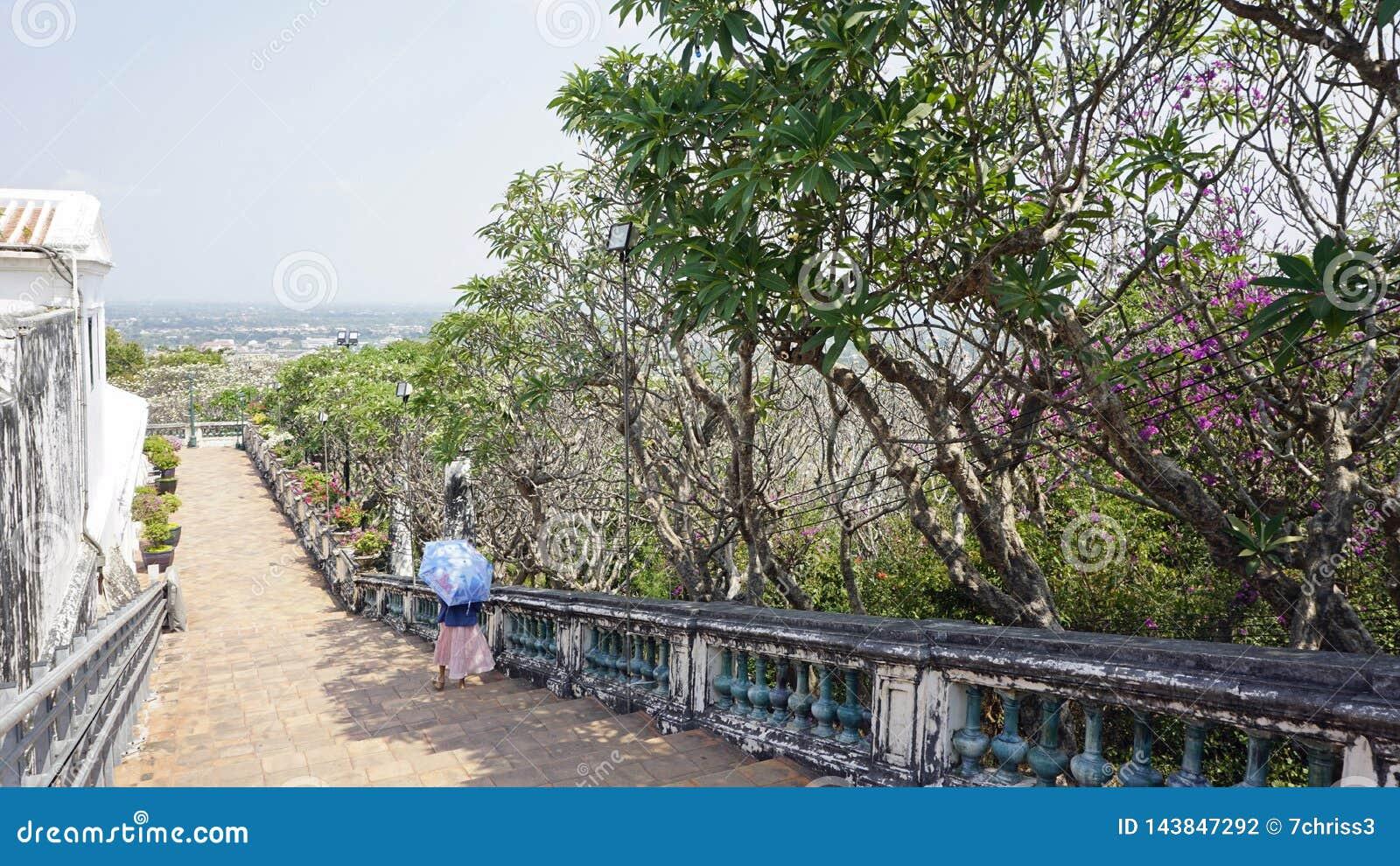 Phra Nakon Kiri Temple Complex i Thailand