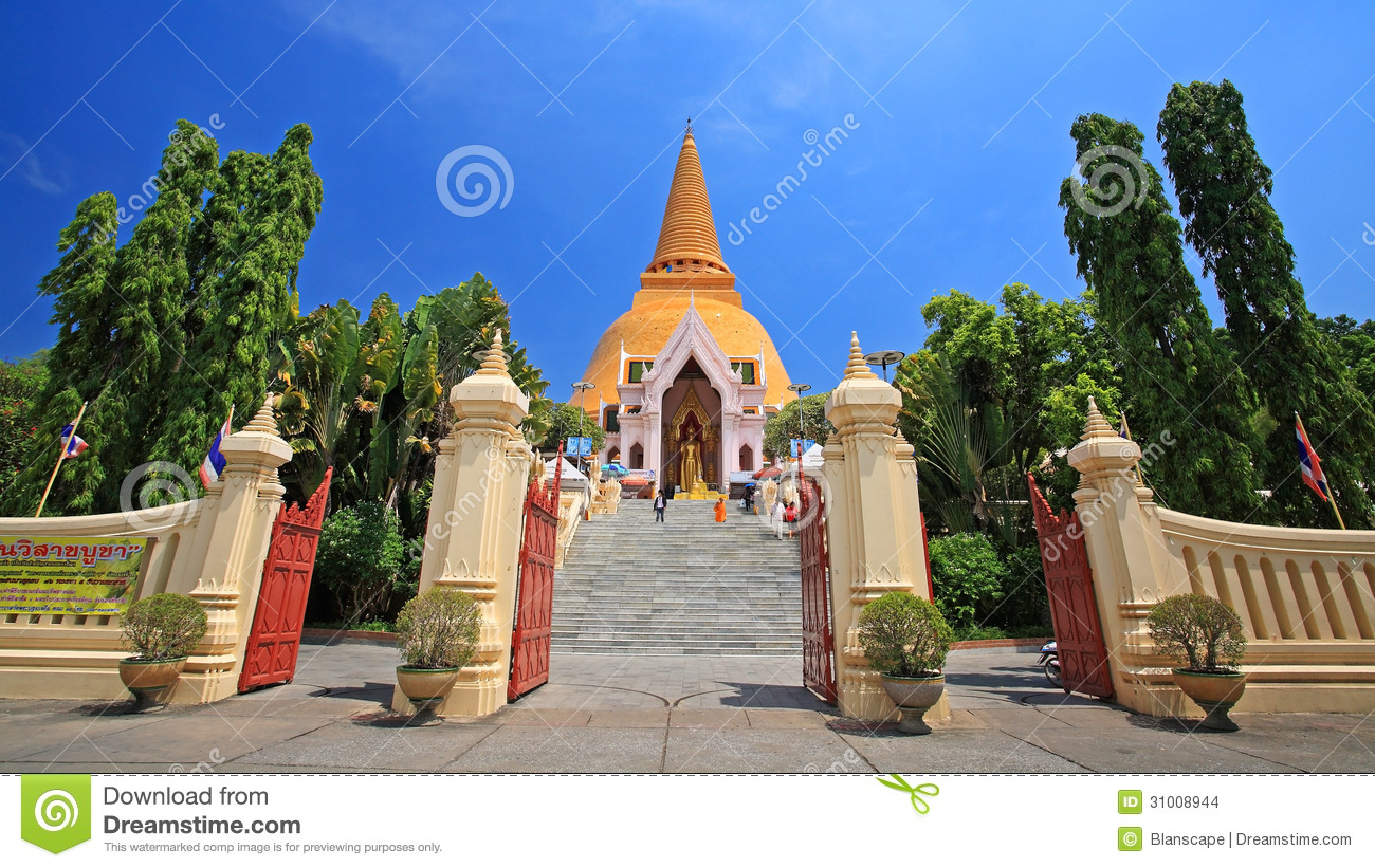 Phra Pathom Chedi Pagoda, Landmark Of Nakhon Pathom ...