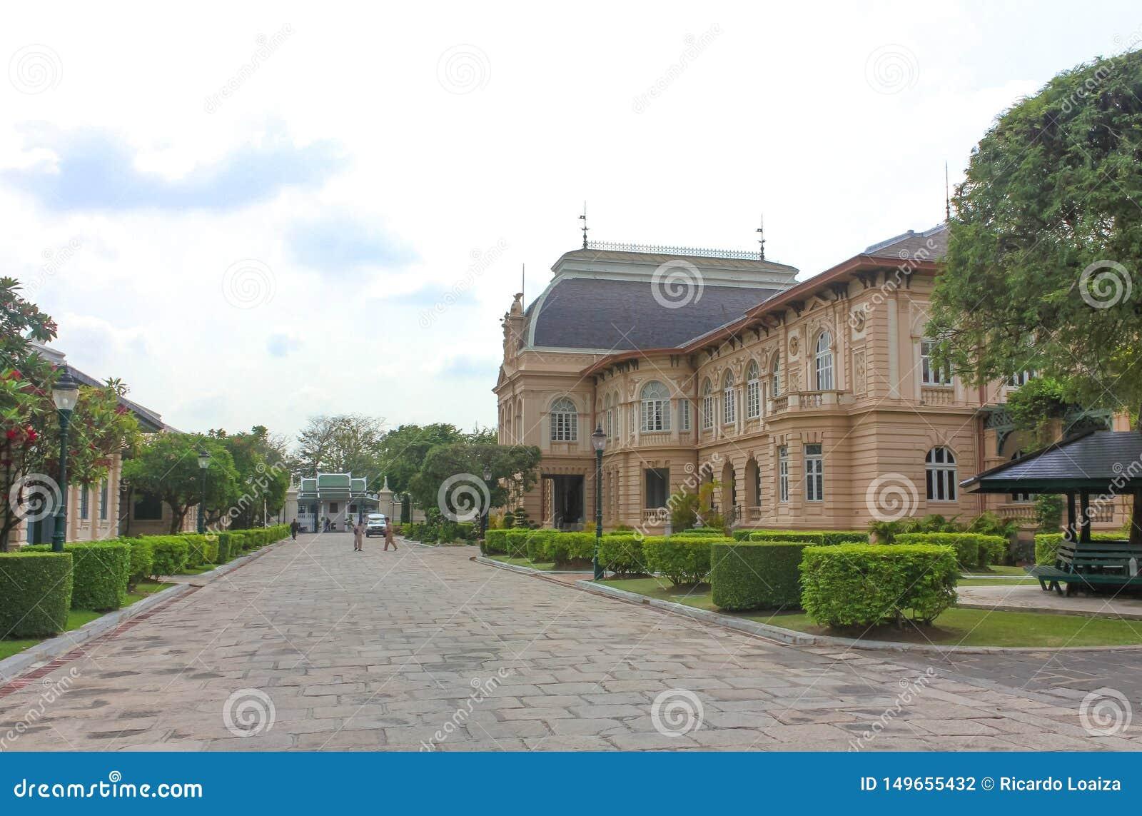 Phra Thinang Boromphiman, residence of Thai kings in the Grand Palace, Bangkok